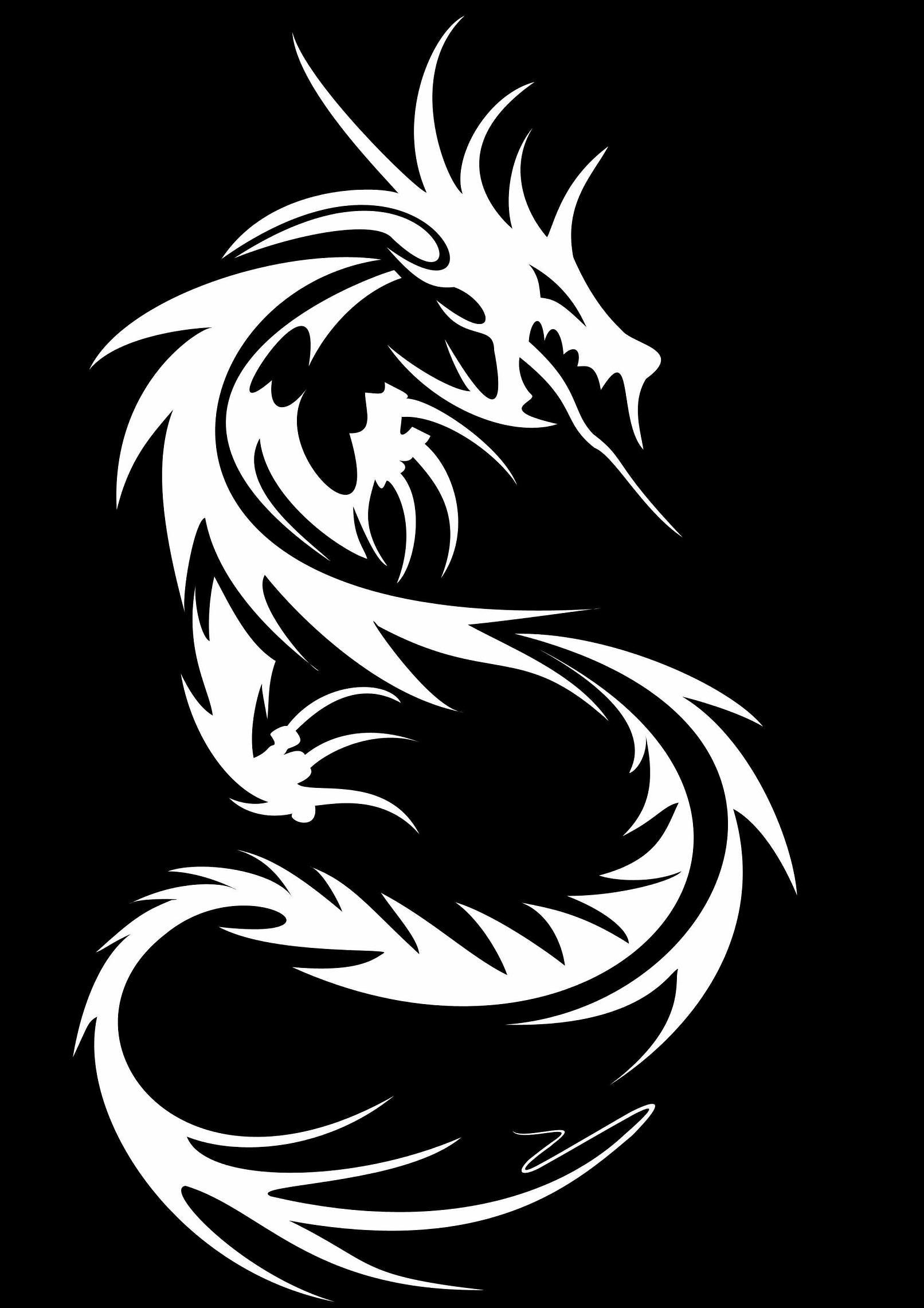 tribal dragon wallpaper by - photo #26