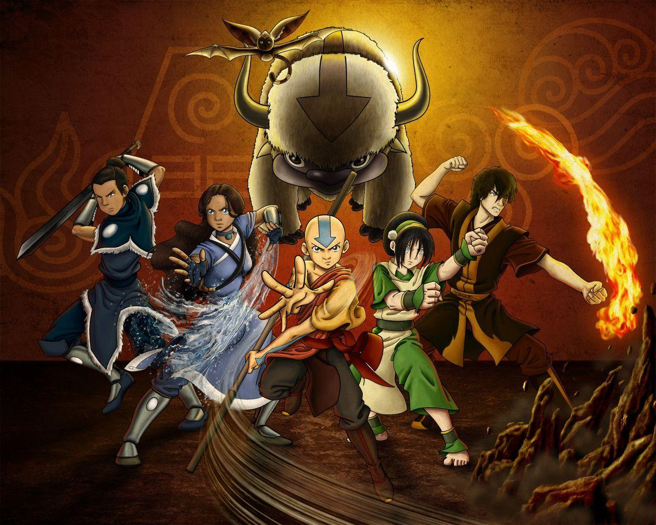 Avatar The Last Airbender Backgrounds Wallpaper Cave