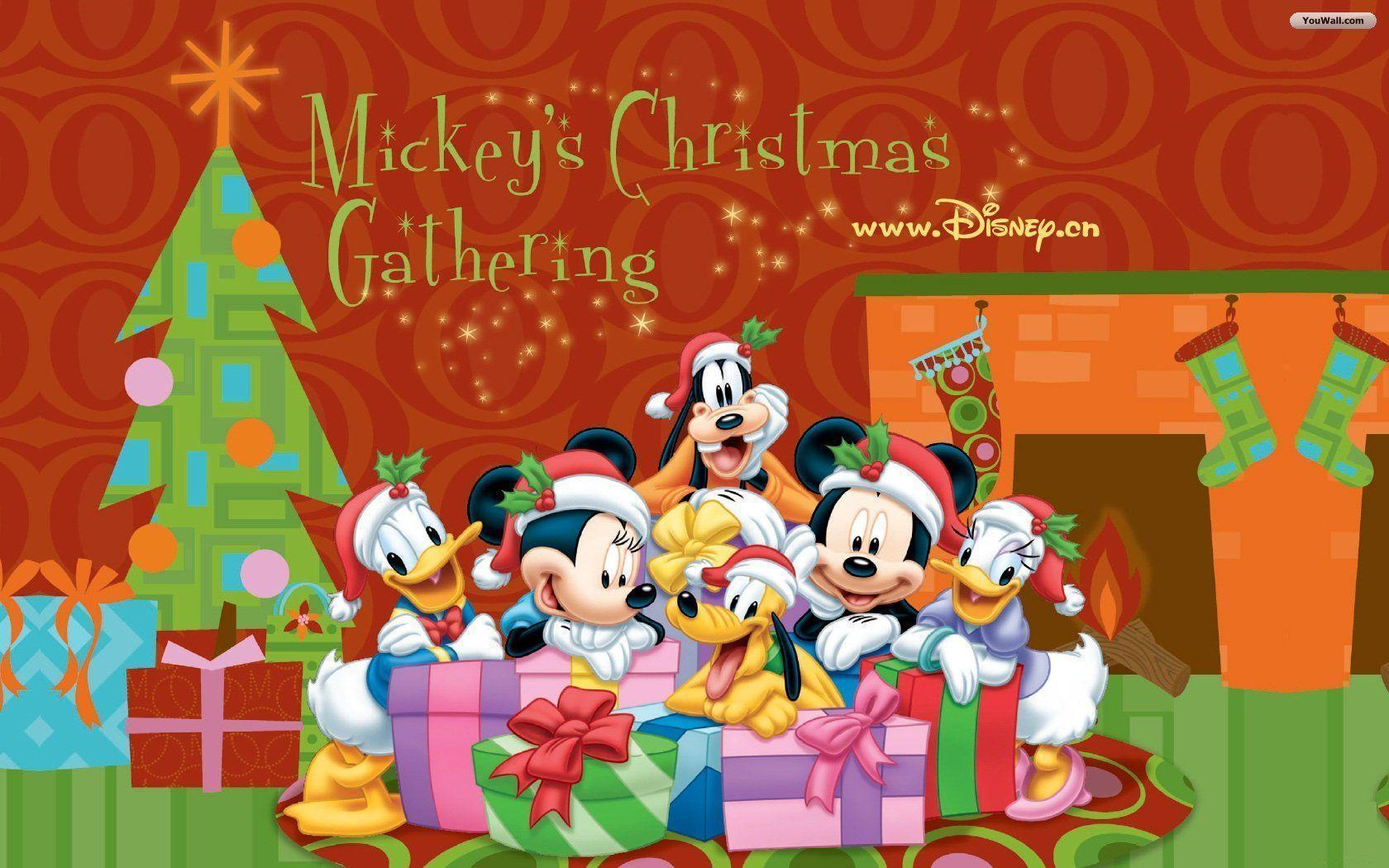 disney christmas desktop wallpapers