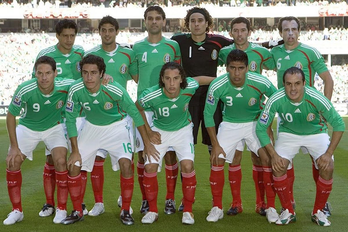 Free Mexico National Soccer Wallpapers Wallpaper Cave