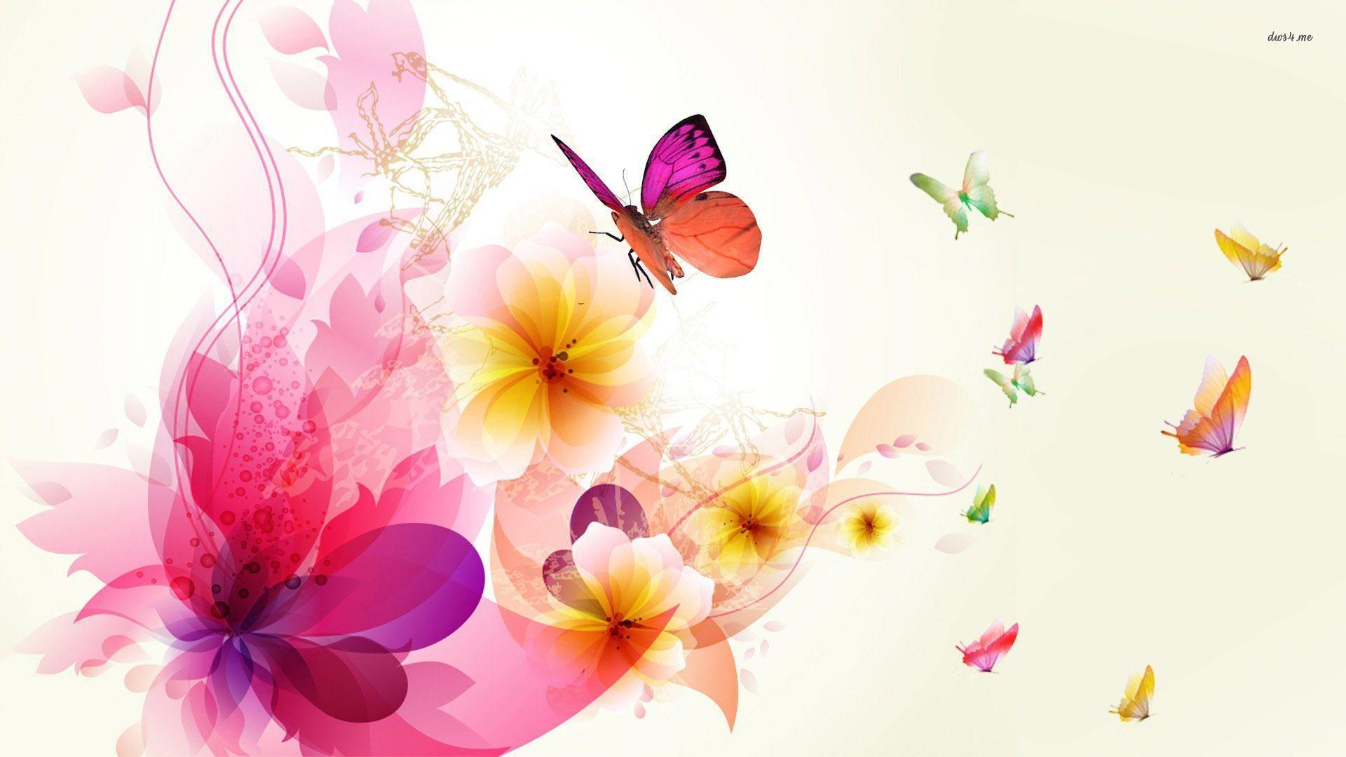 Colorful Flower Wallpapers Wallpaper Cave