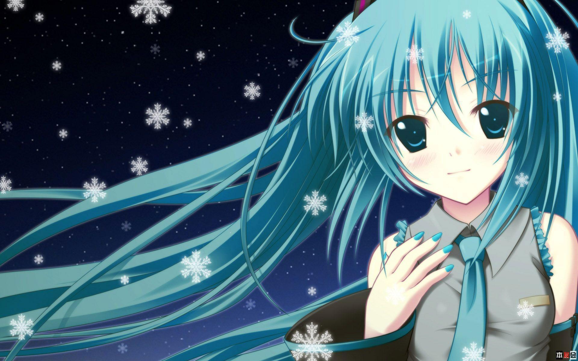 Cute Anime Girl Desktop Wallpapers In Hd With Resolutions 19201200