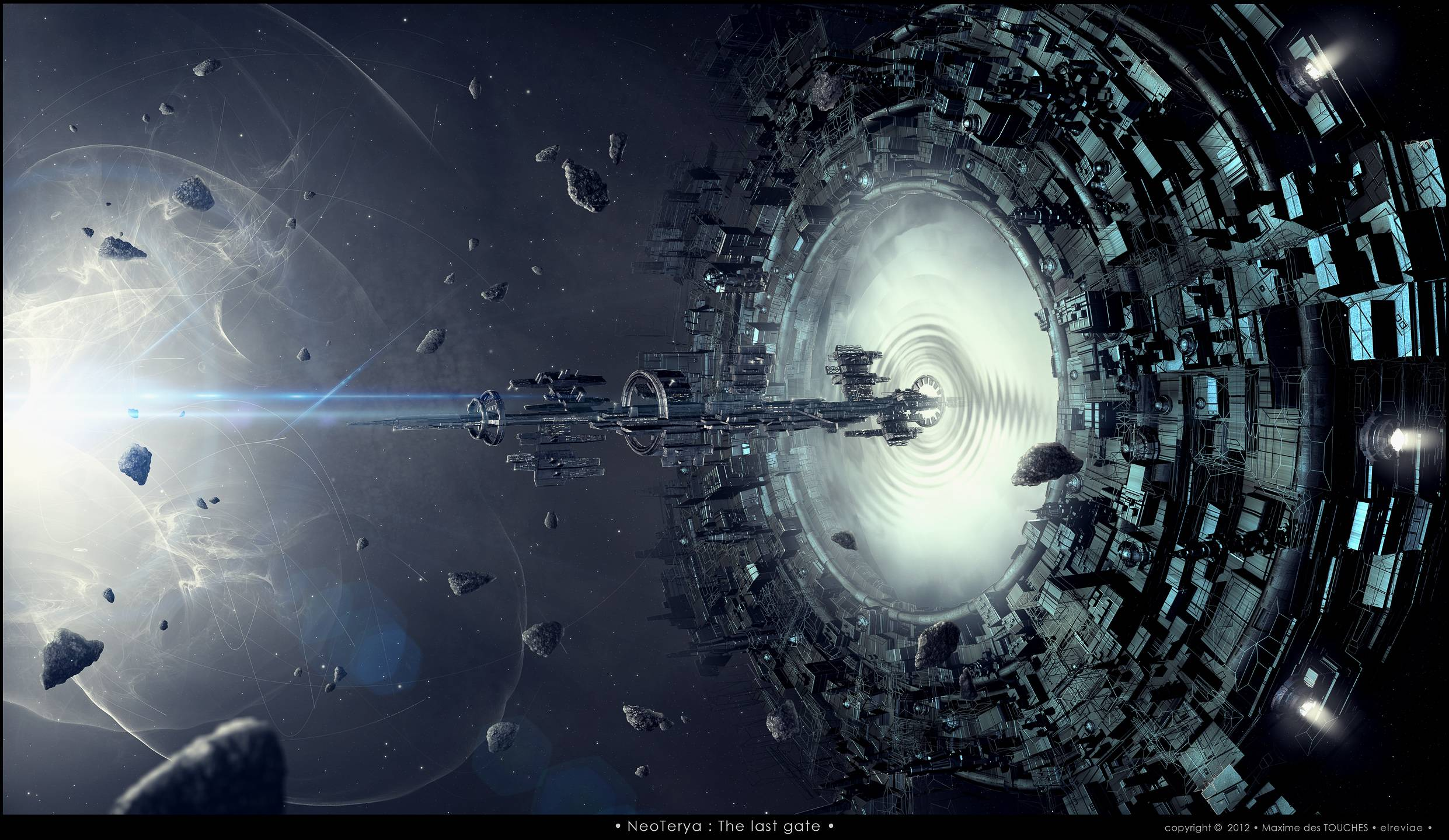 Wormhole Wallpapers - Wallpaper Cave