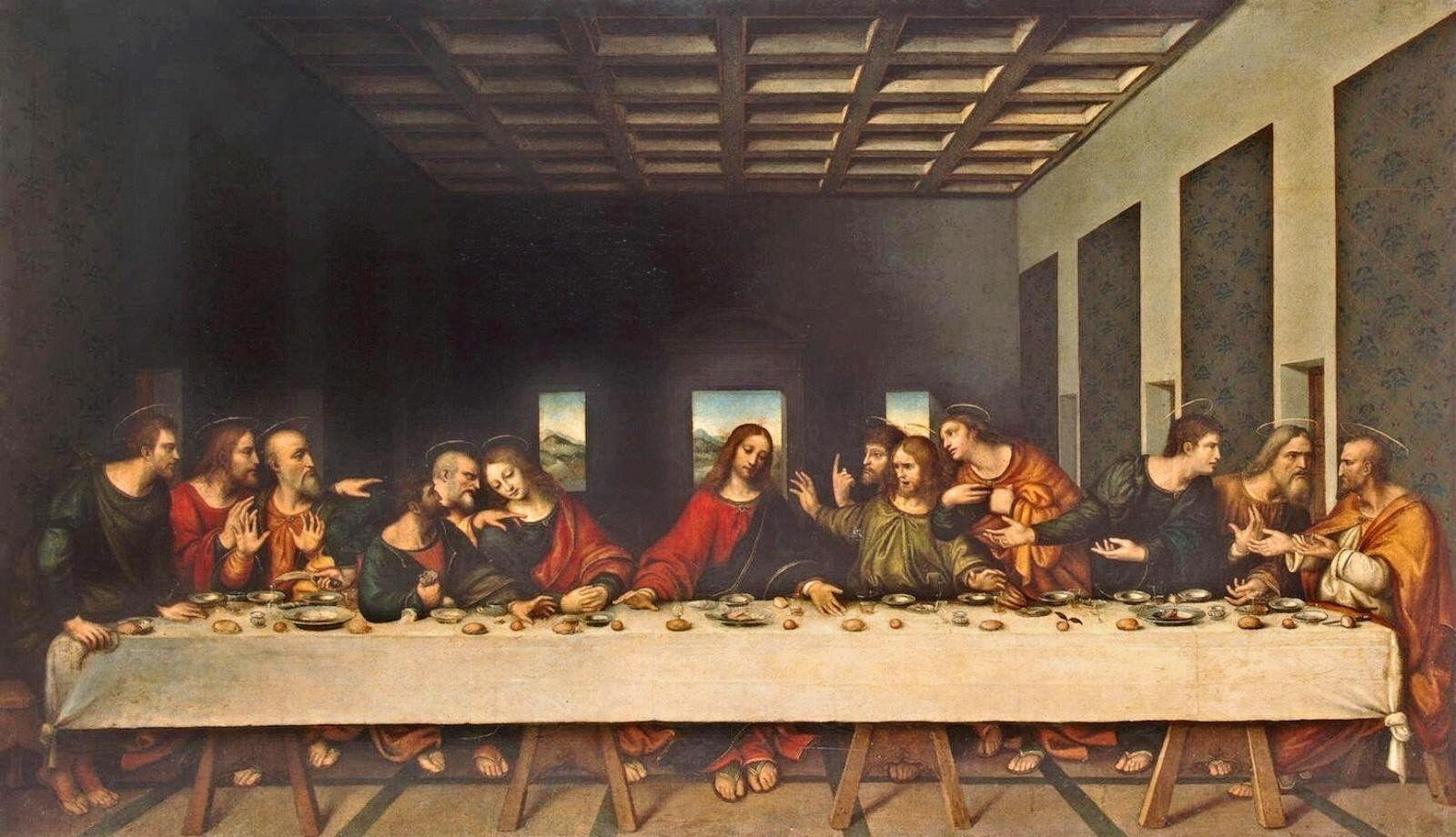 The Last Supper Wallpapers - Wallpaper Cave