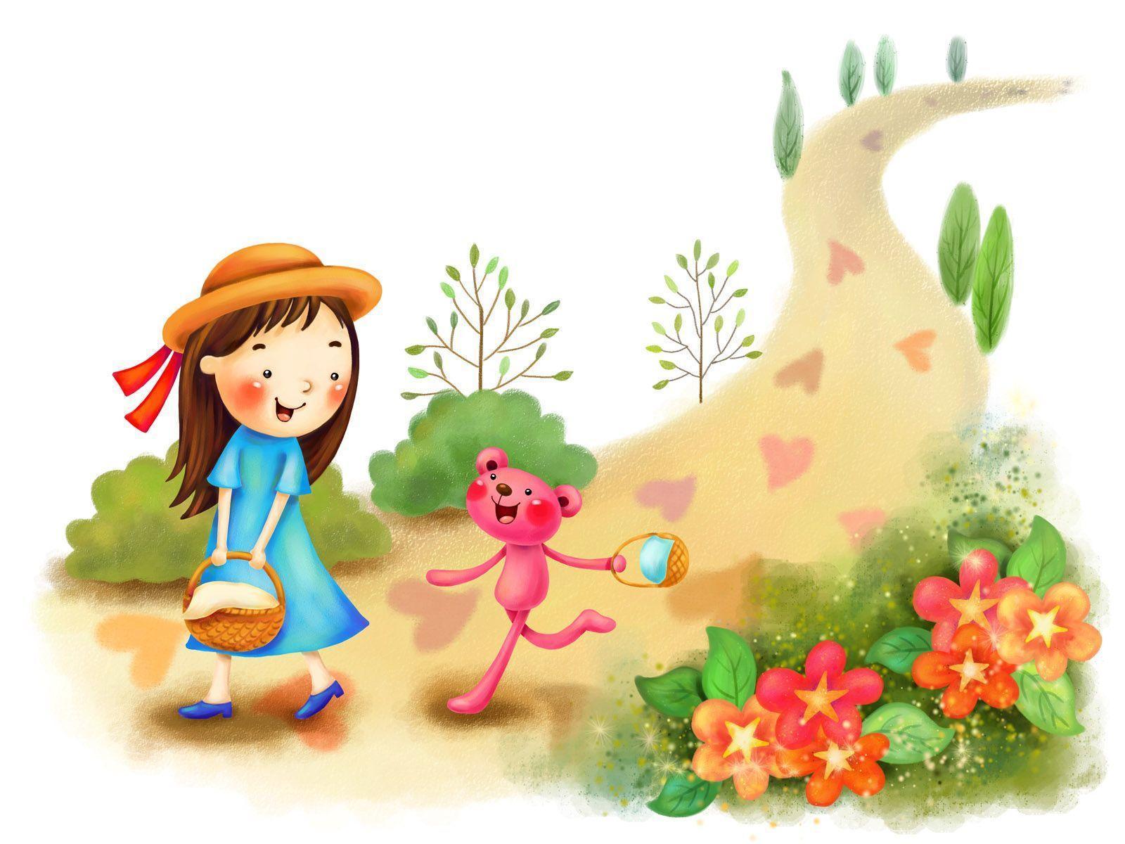 Wallpapers Of Cute Cartoon - Wallpaper Cave