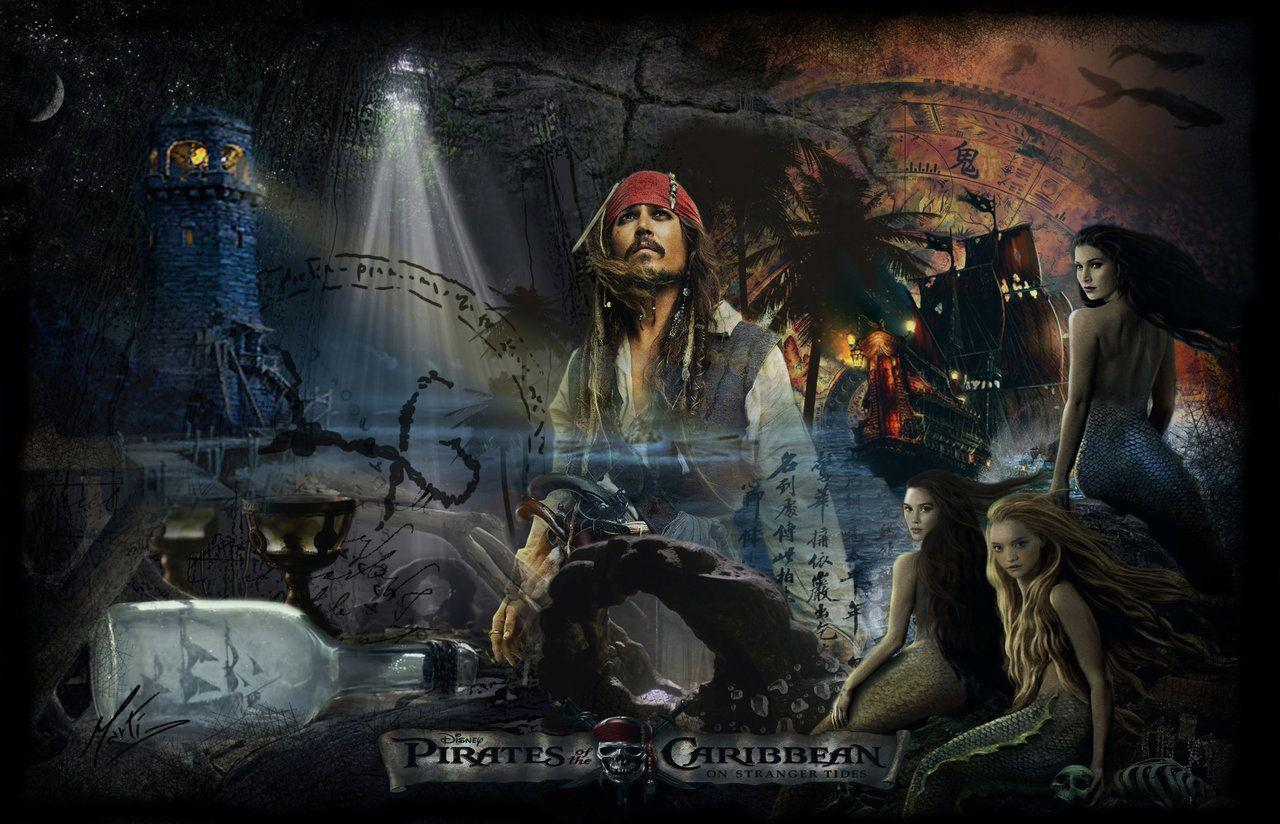 Pirates Of The Caribean Wallpaper: Pirates Of The Caribbean 4 Wallpapers