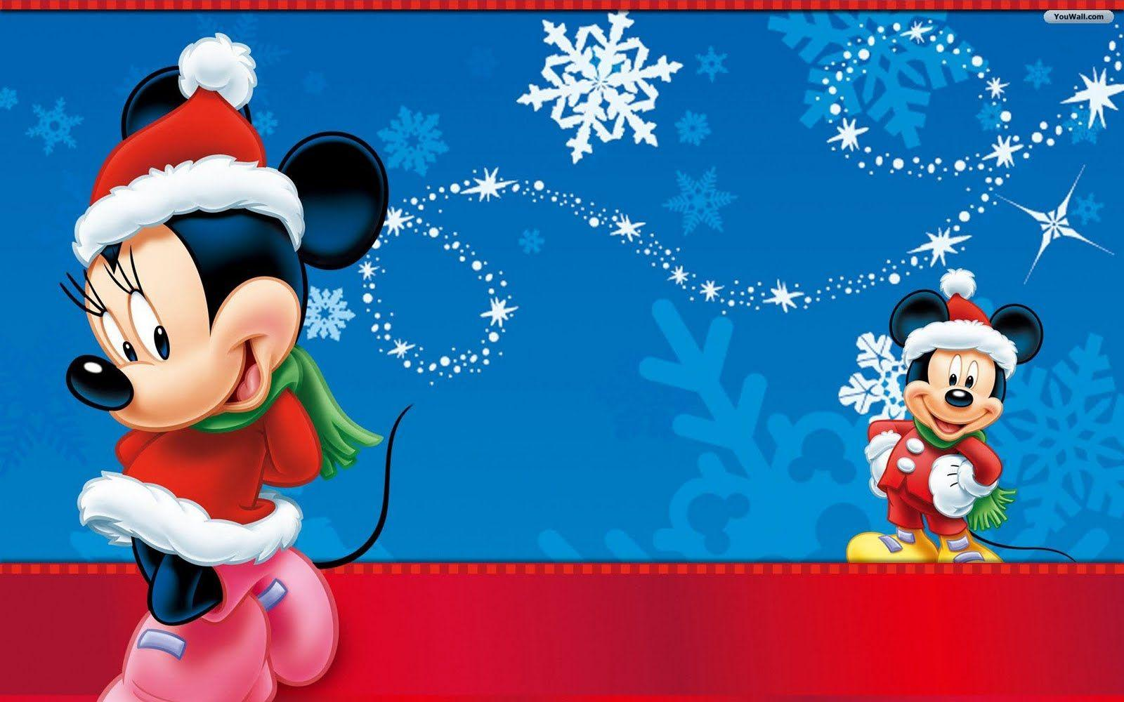 Charming Disney Christmas Wallpapers Desktop 1600x1000PX ~ Disney