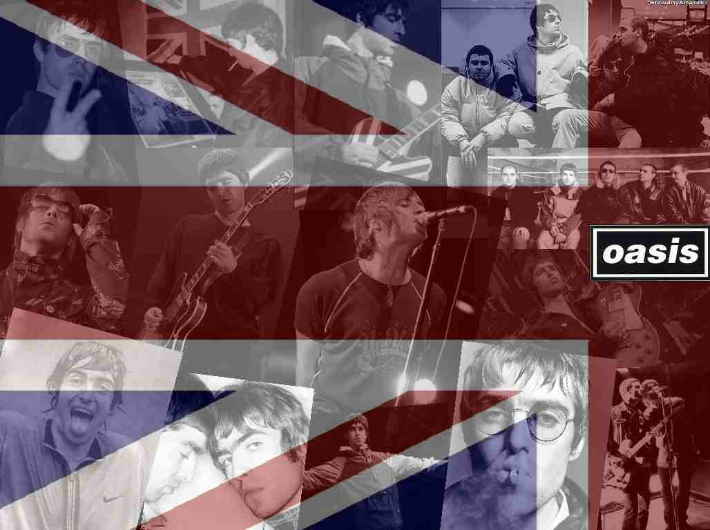 Oasis Wallpapers - Wallpaper Cave Oasis Band Wallpaper