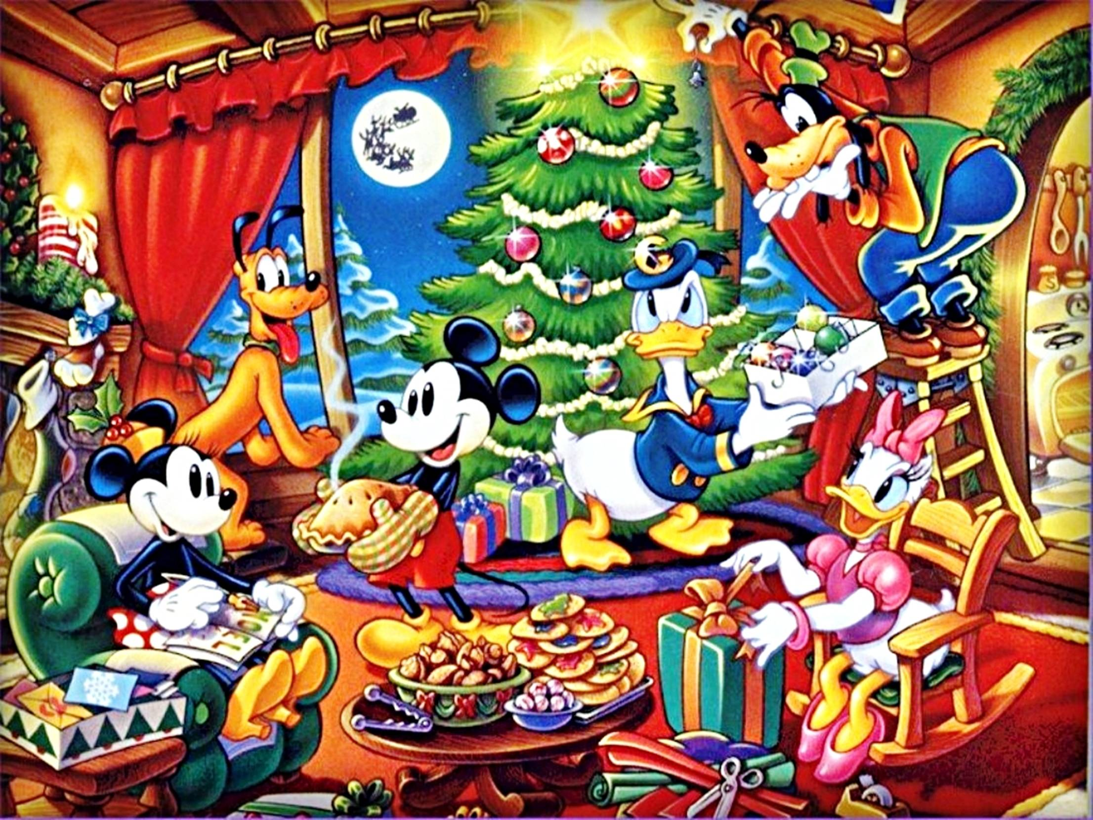 Wallpapers For > Baby Disney Christmas Backgrounds