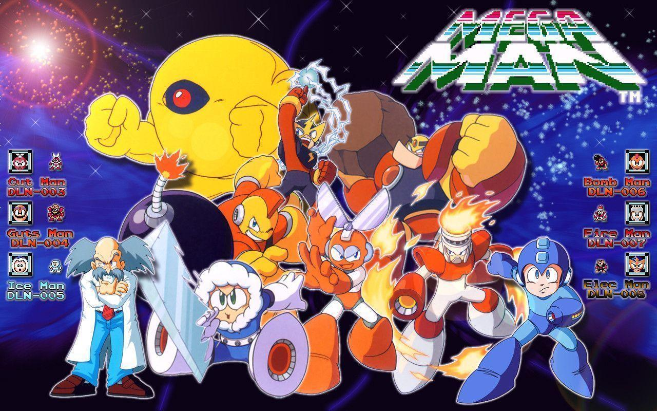 Megaman 1 Wallpapers by Neo