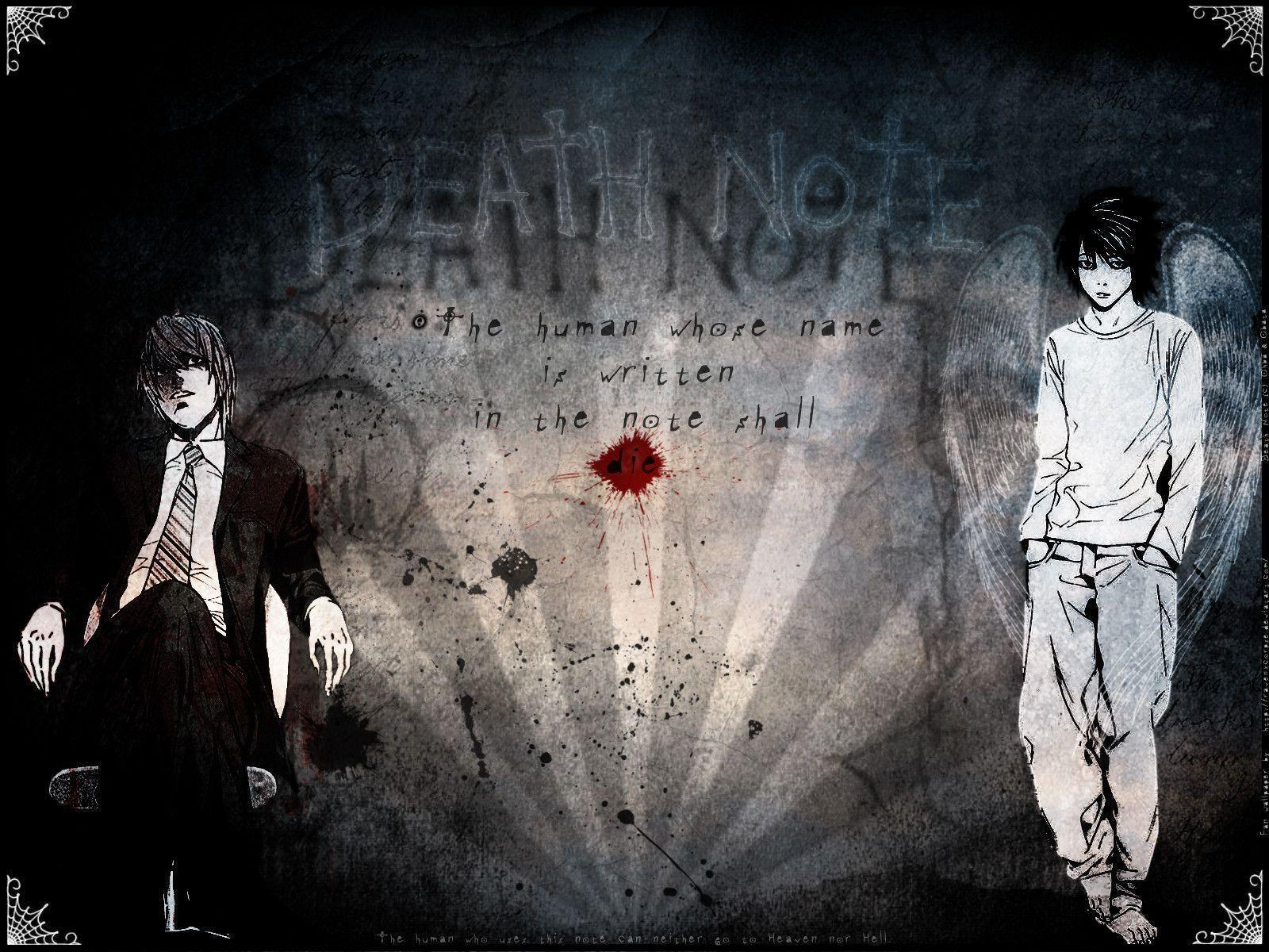 light and ryuk wallpaper - photo #7
