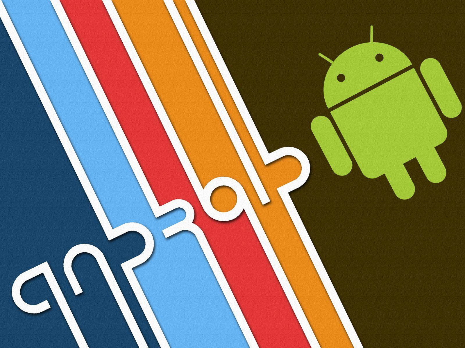 Fearsome Android Logo Black Hd Wallpapers 1920x1080PX ~ Andriod ...