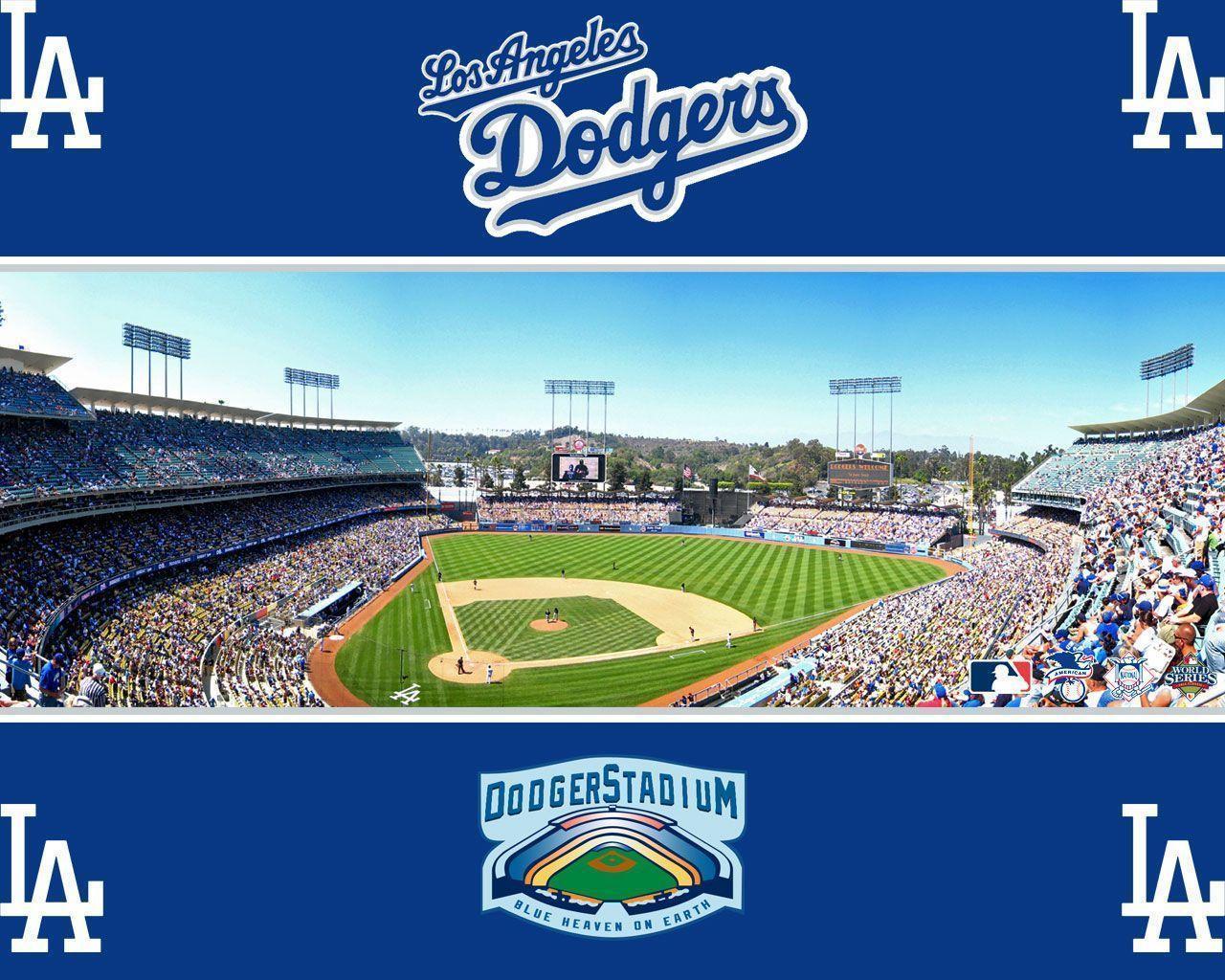 Dodger stadium wallpaper