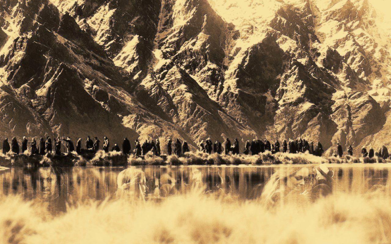 Mountains Laptop Wallpaper - Lord of the Rings Wallpaper (3304034 ...