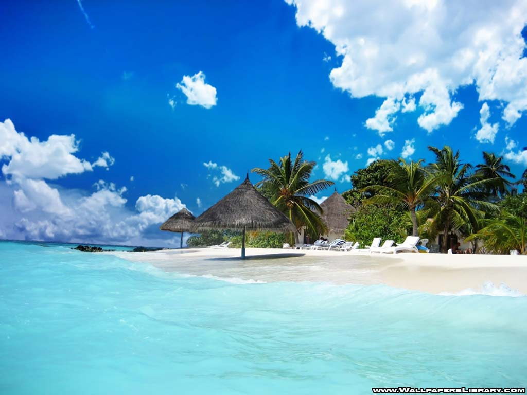 Summer Beach Paradise Wallpaper Hd Pictures 4 HD Wallpapers