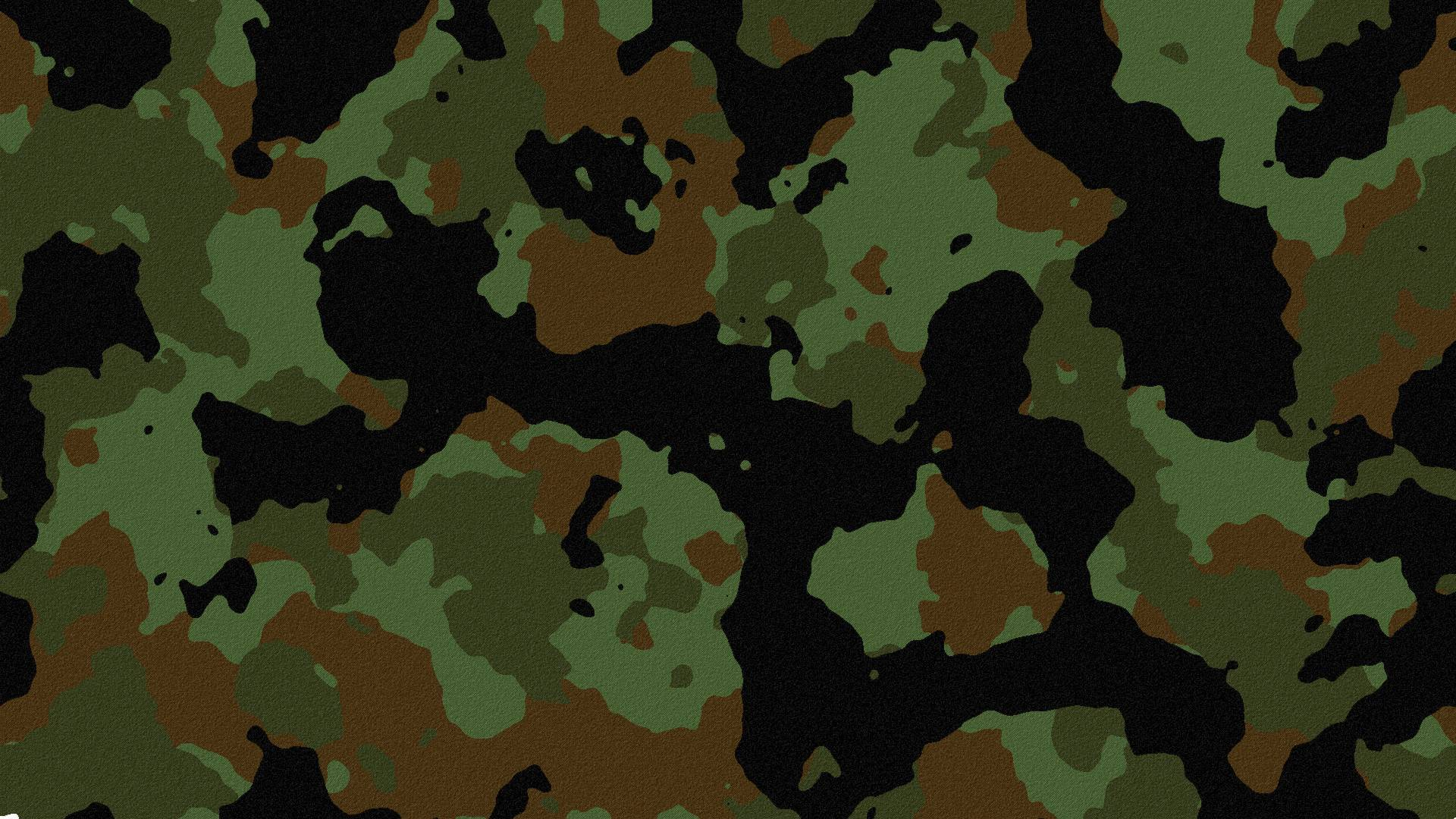 Military Khaki Camouflage Patters