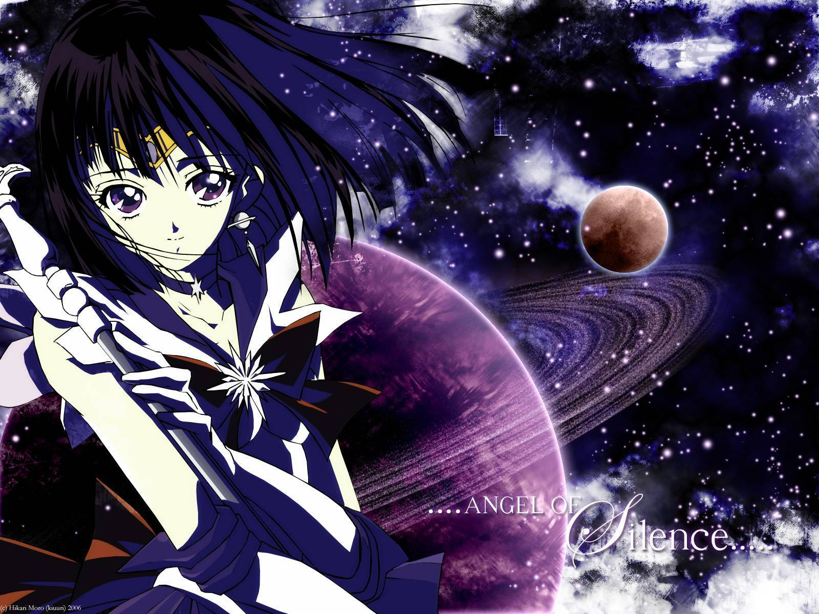 Wallpaper saturno wallpapers - Sailor Saturn Sailor Saturn Wallpaper 28786404 Fanpop