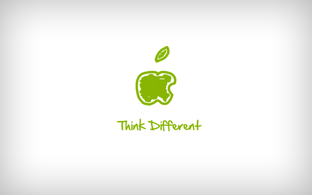think different wallpapers wallpaper cave
