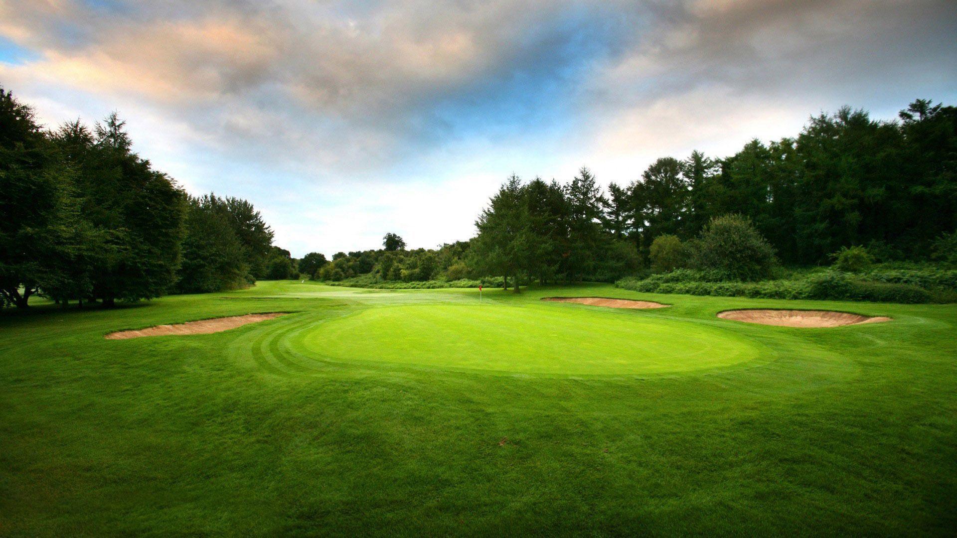 Golf course wallpapers wallpaper cave - Golf wallpaper hd ...