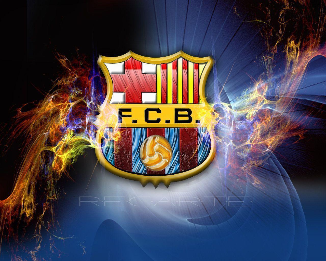 FC Barcelona Logo Wallpaper - FC Barcelona Wallpaper (22614314 ...