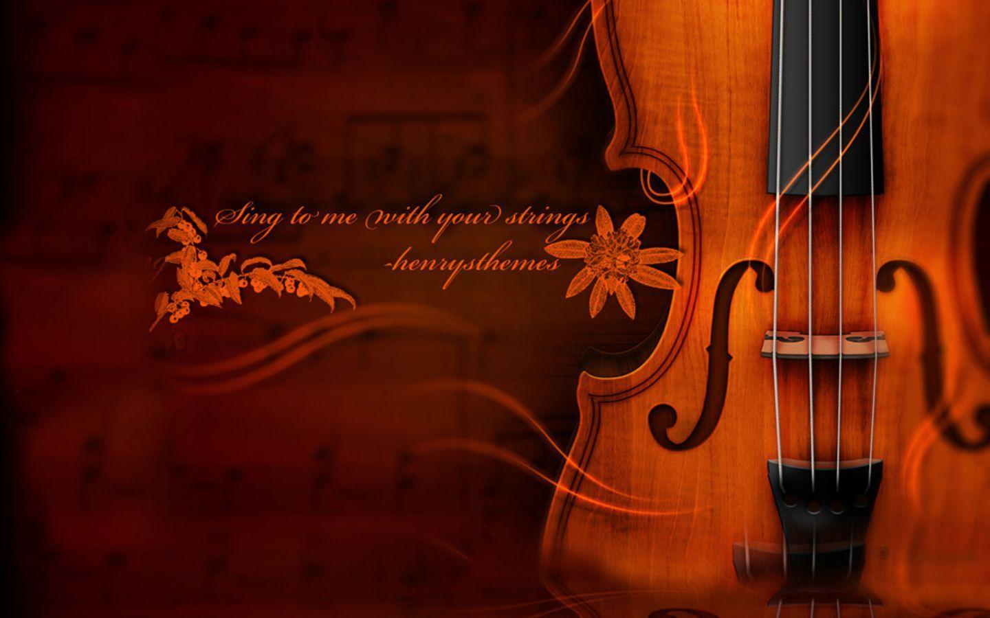 Violin - Music Wallpaper (31870311) - Fanpop