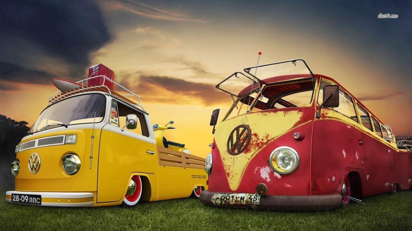 Wallpapers Vw Bus Volkswagen Busses 1366x768PX ~ Wallpapers Vw Bus