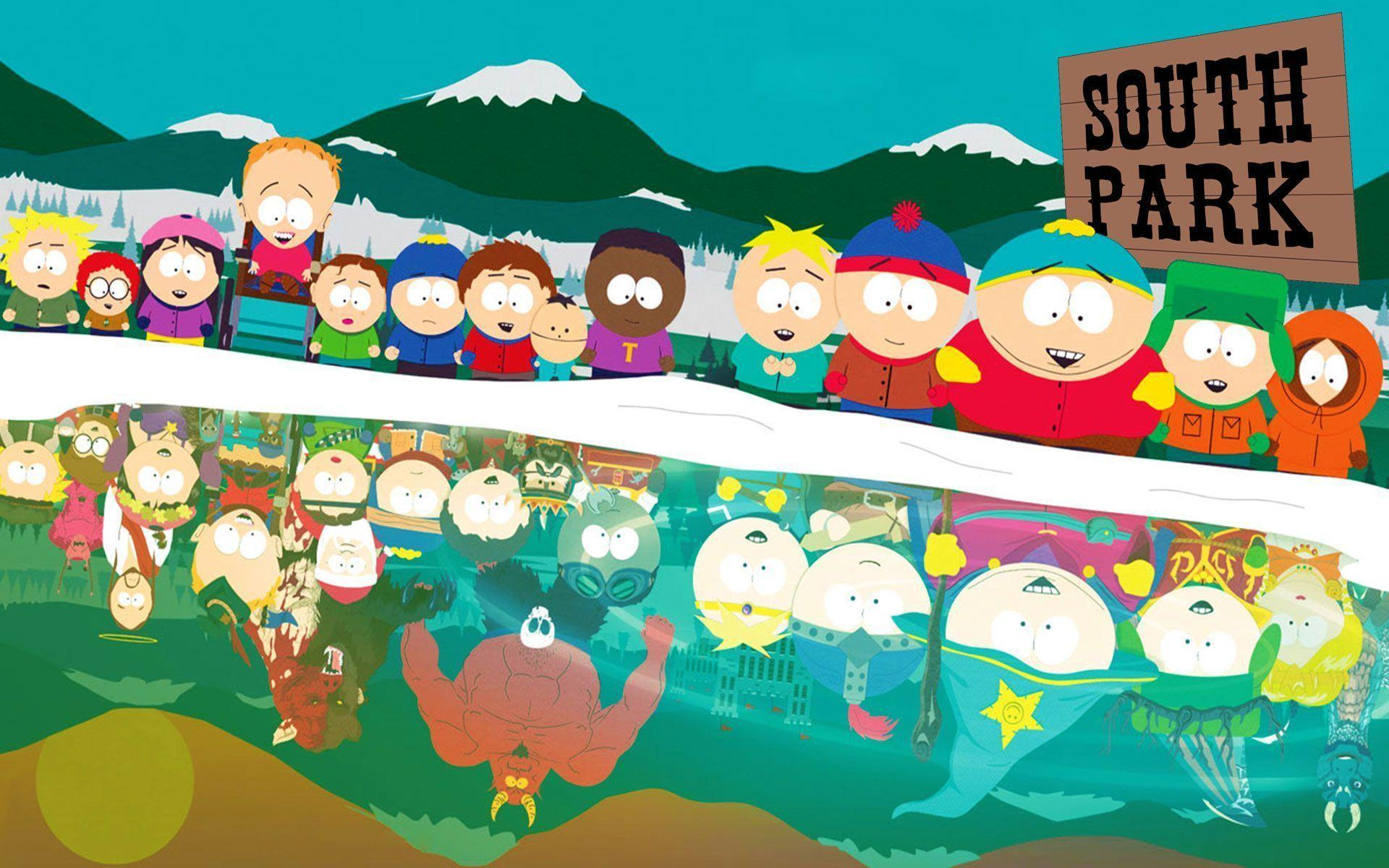 Pix For > Funny South Park Backgrounds