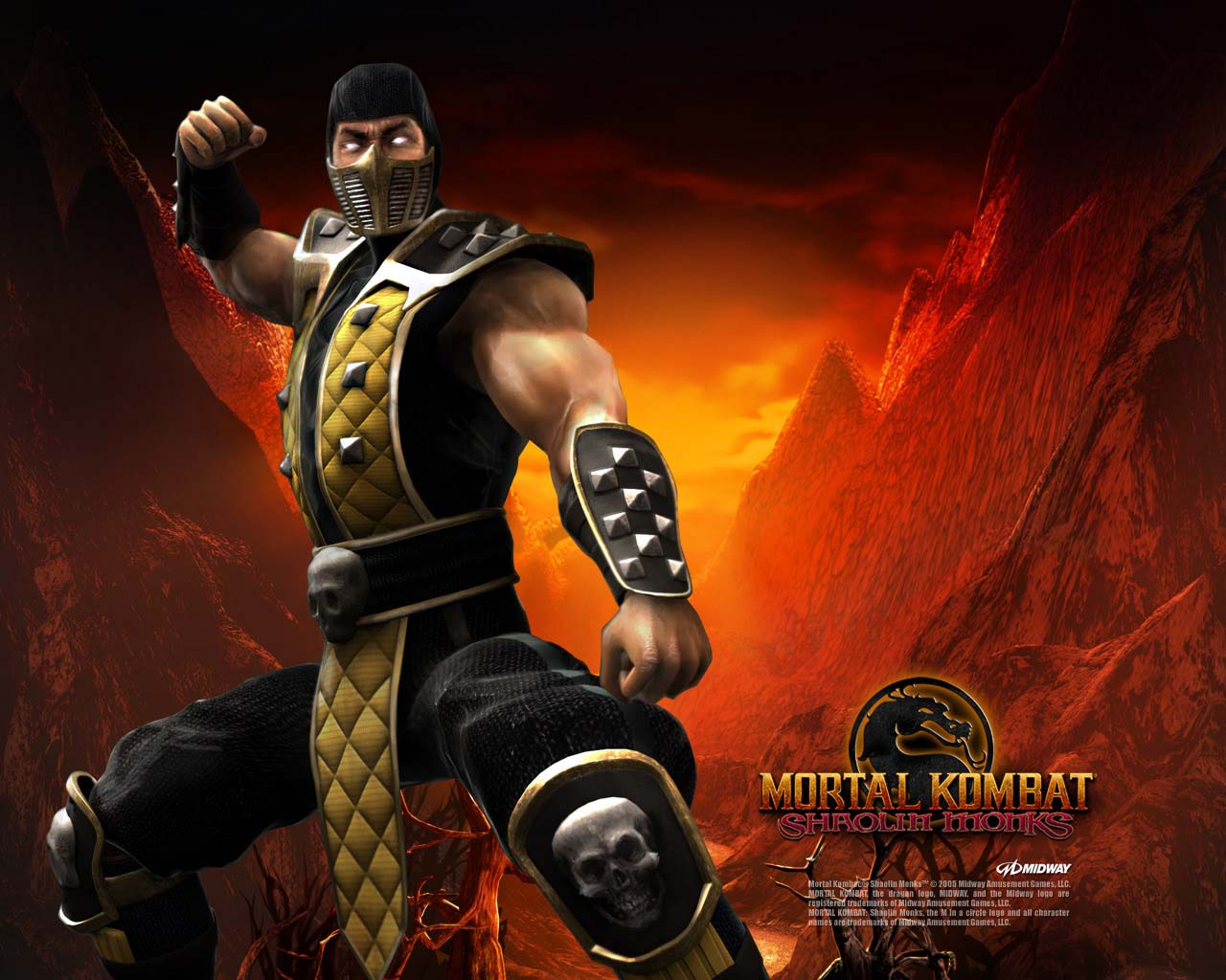 scorpion mortal kombat wallpapers - wallpaper cave