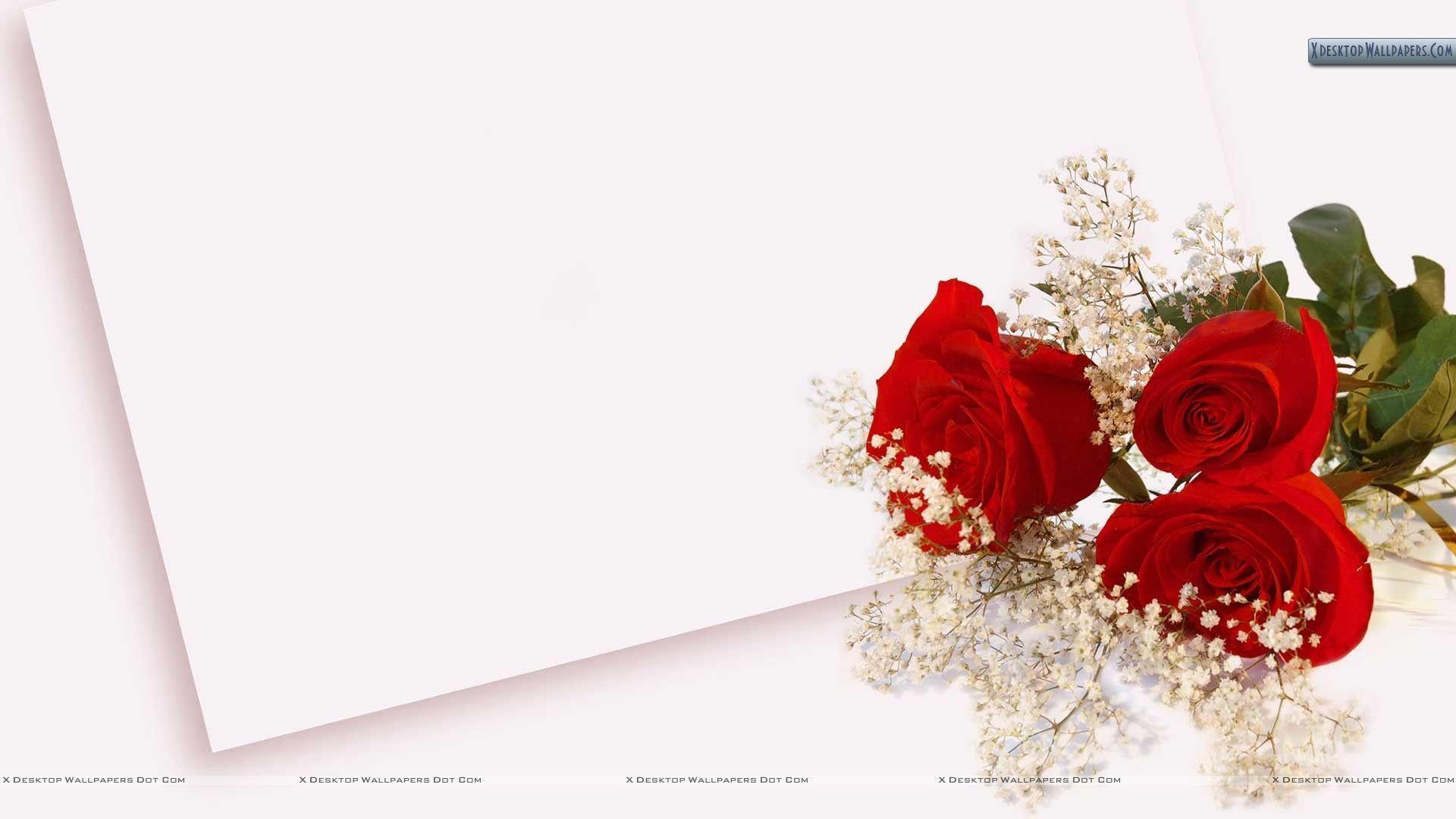 rose wedding invitation background - photo #37