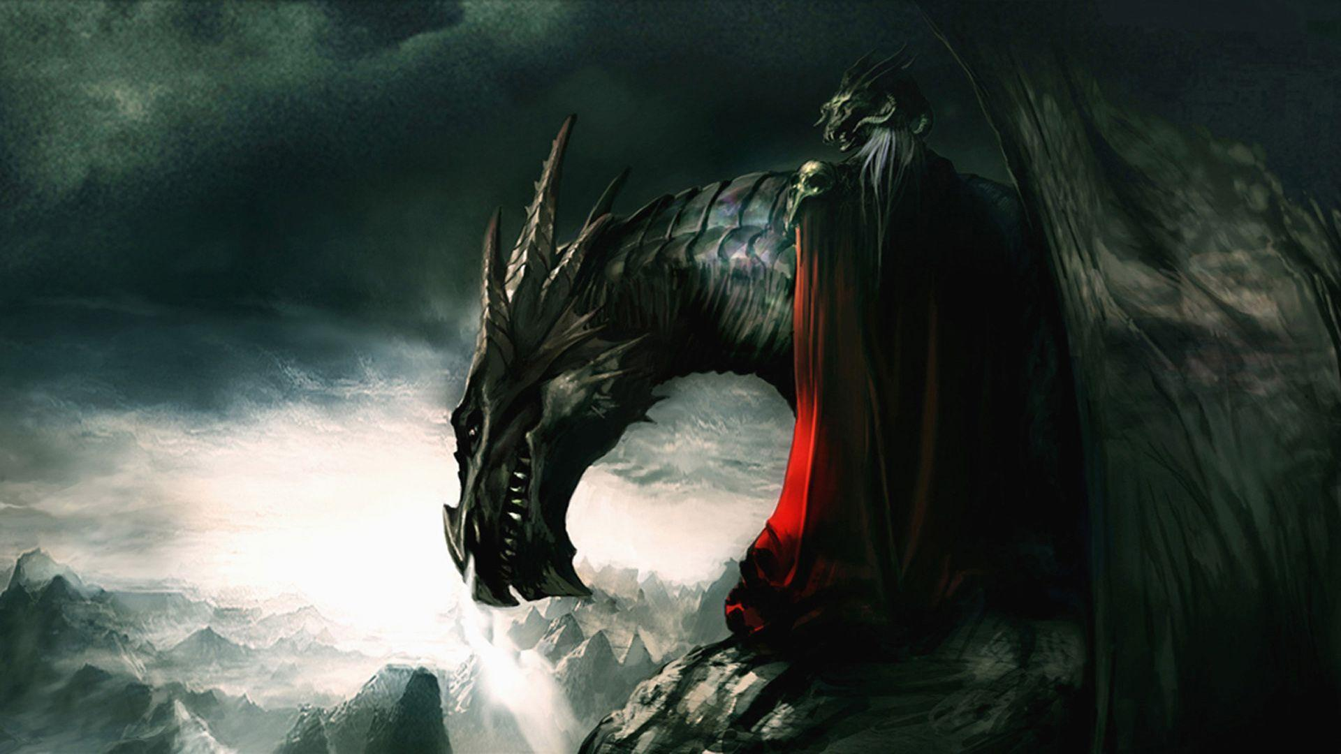 dragon wallpaper widescreen high resolution - photo #26