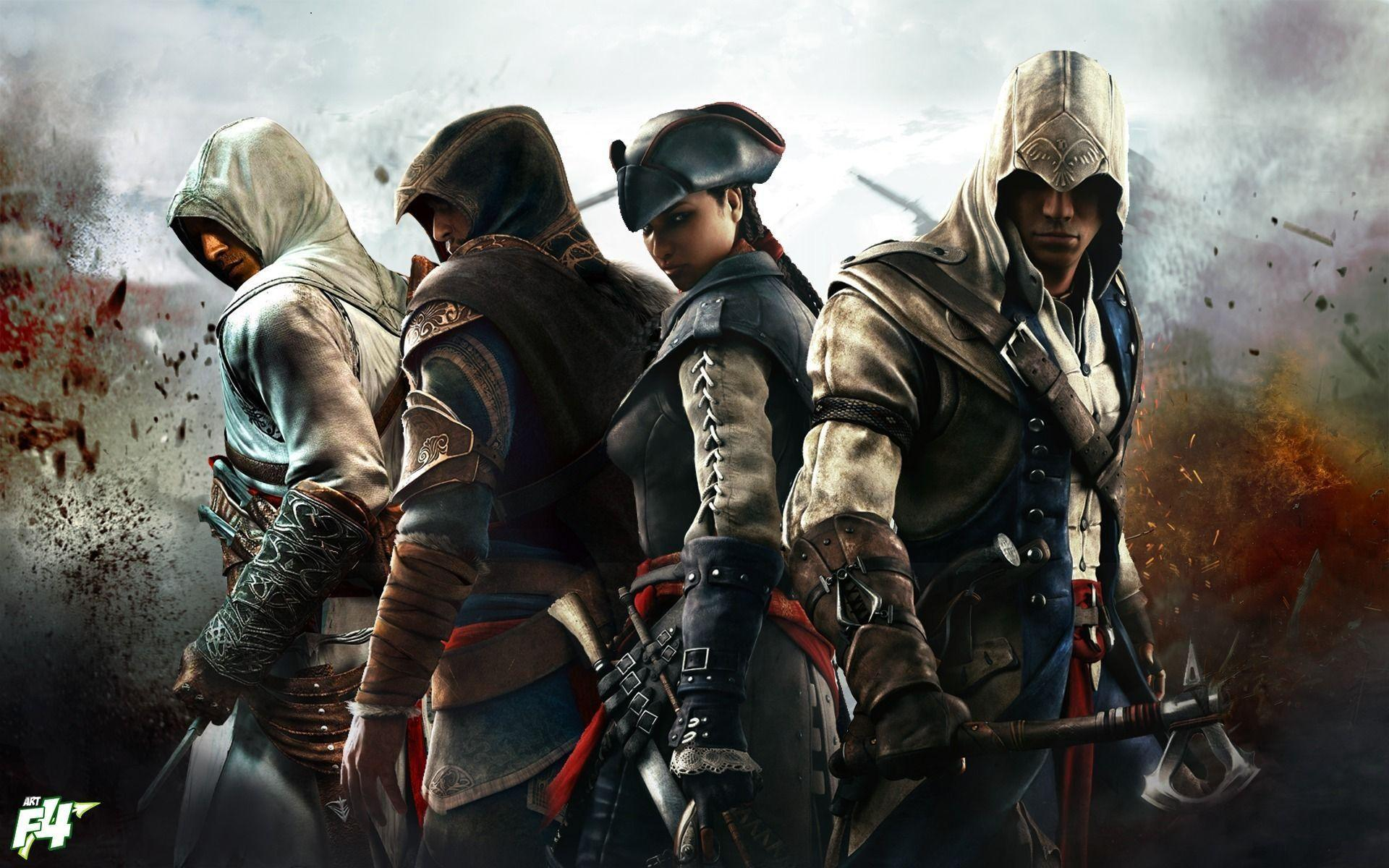 Download Assassin&Creed III Characters