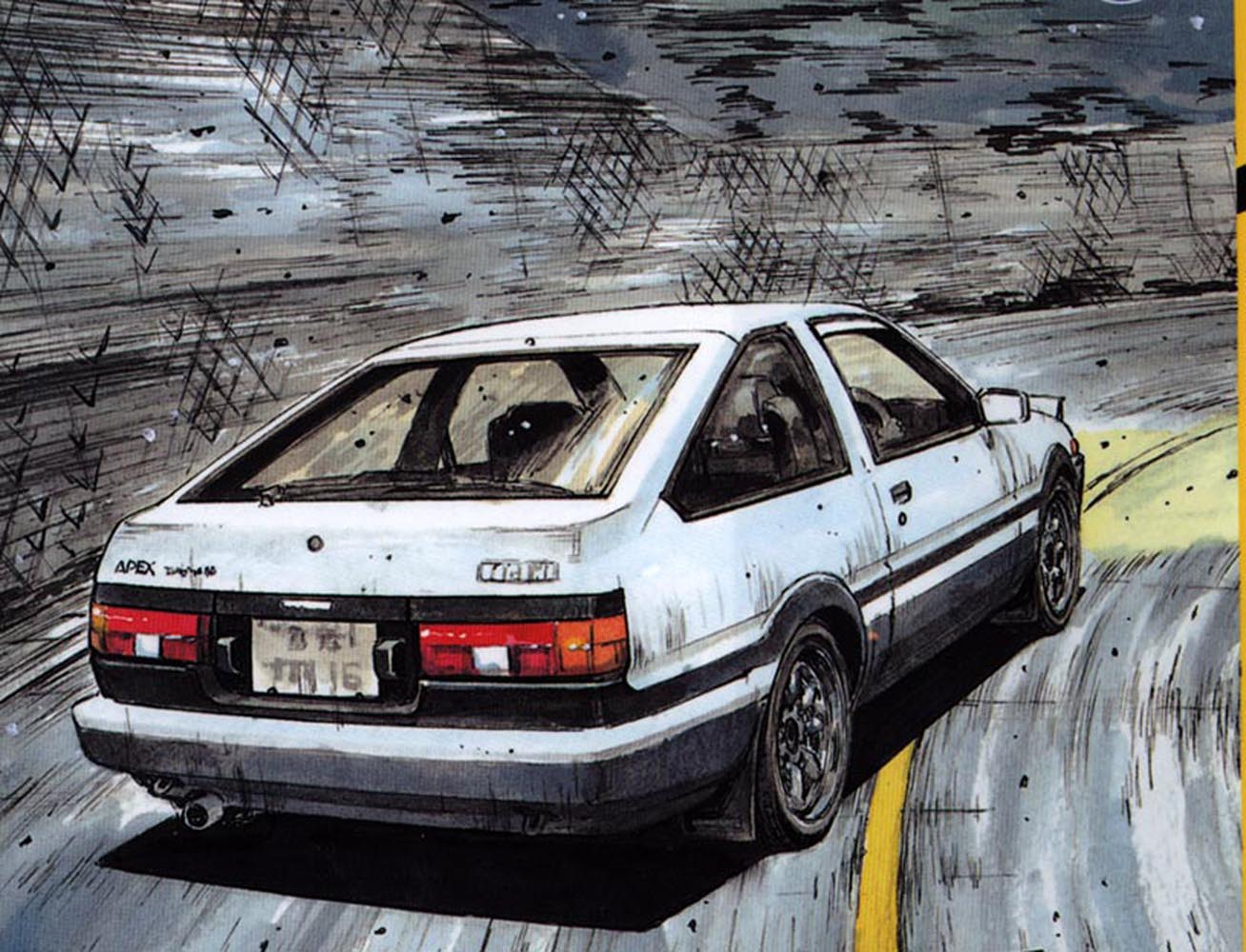 Wallpapers initial d wallpaper cave - Ae86 initial d wallpaper ...