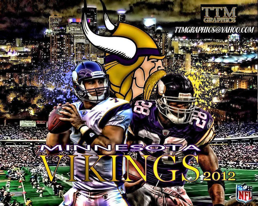 Minnesota Vikings Wallpaper by tmarried on DeviantArt
