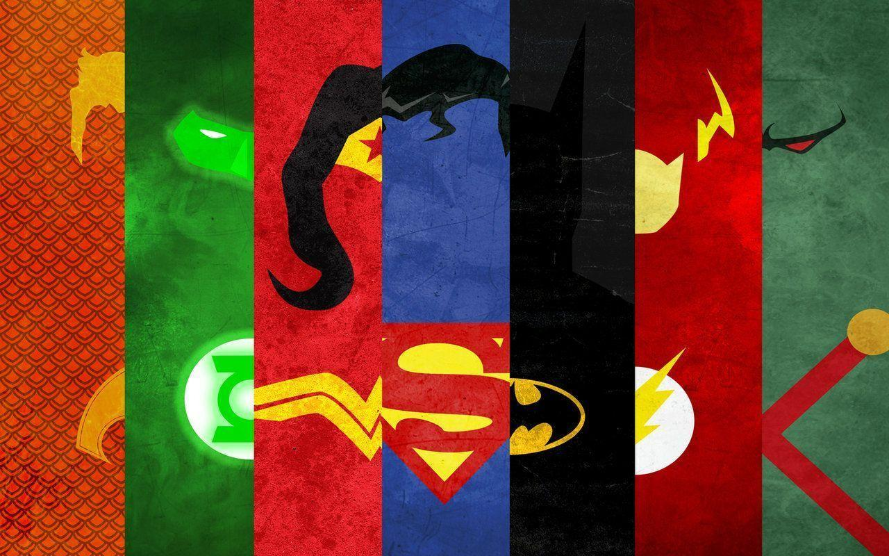 Justice League Minimal Wallpapers Pack by Cheetashock