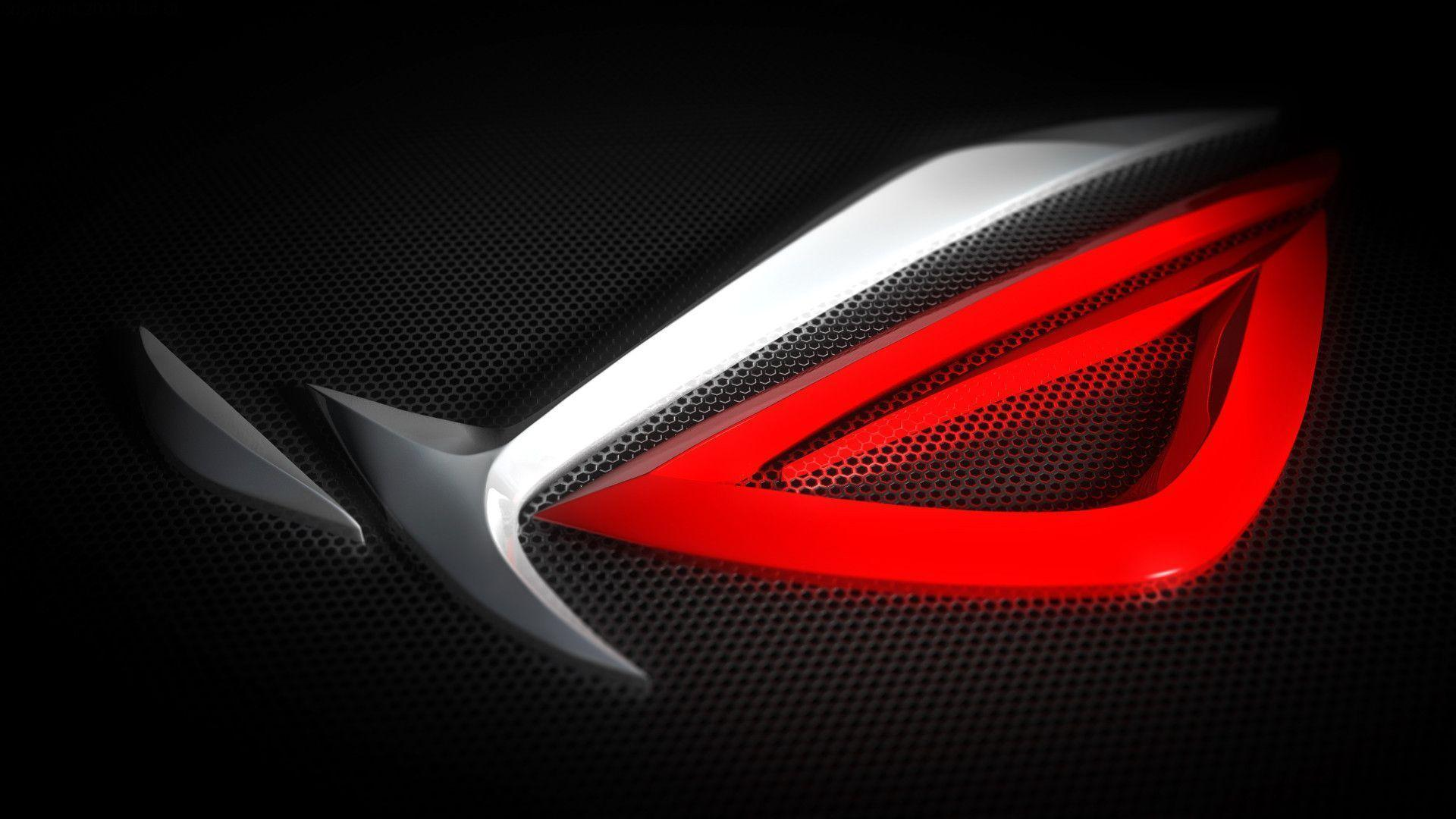 Red Asus Wallpaper: Republic Of Gamers Wallpapers