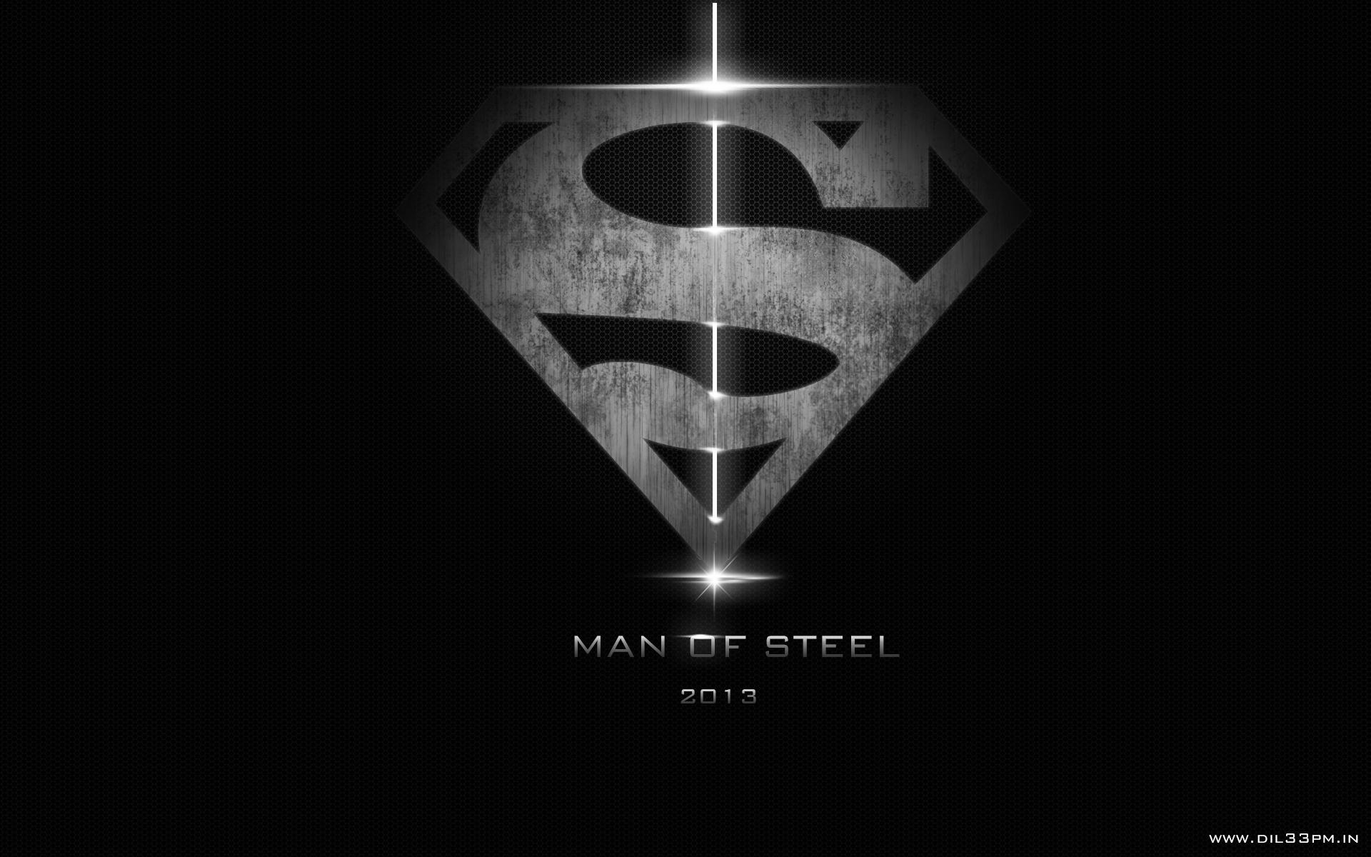 Man of steel desktop backgrounds wallpaper cave man of steel logo background wallpaper free hd 3d desktop wallpapers download voltagebd Gallery