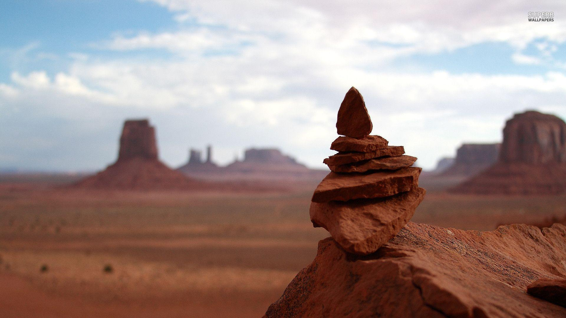Rock formation in Monument Valley wallpapers