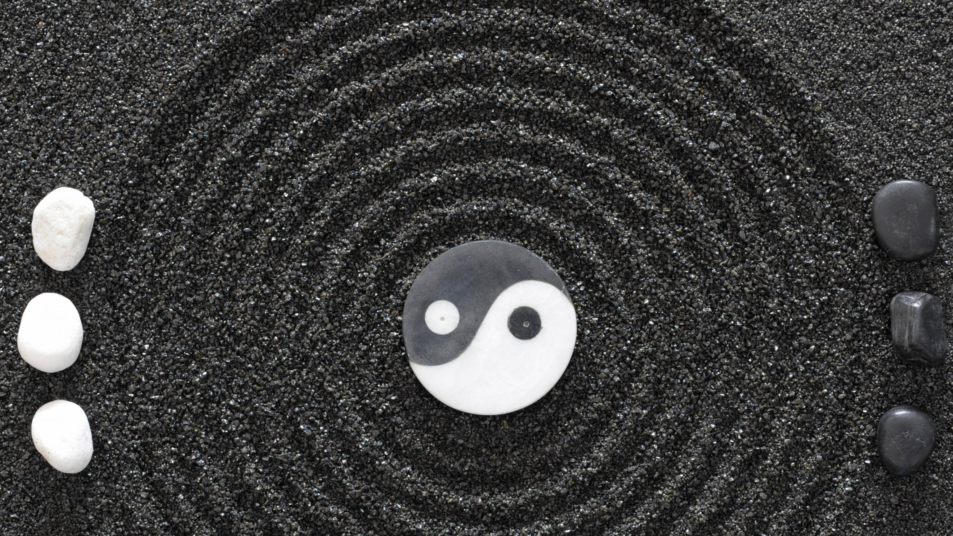 yin yang backgrounds wallpaper cave