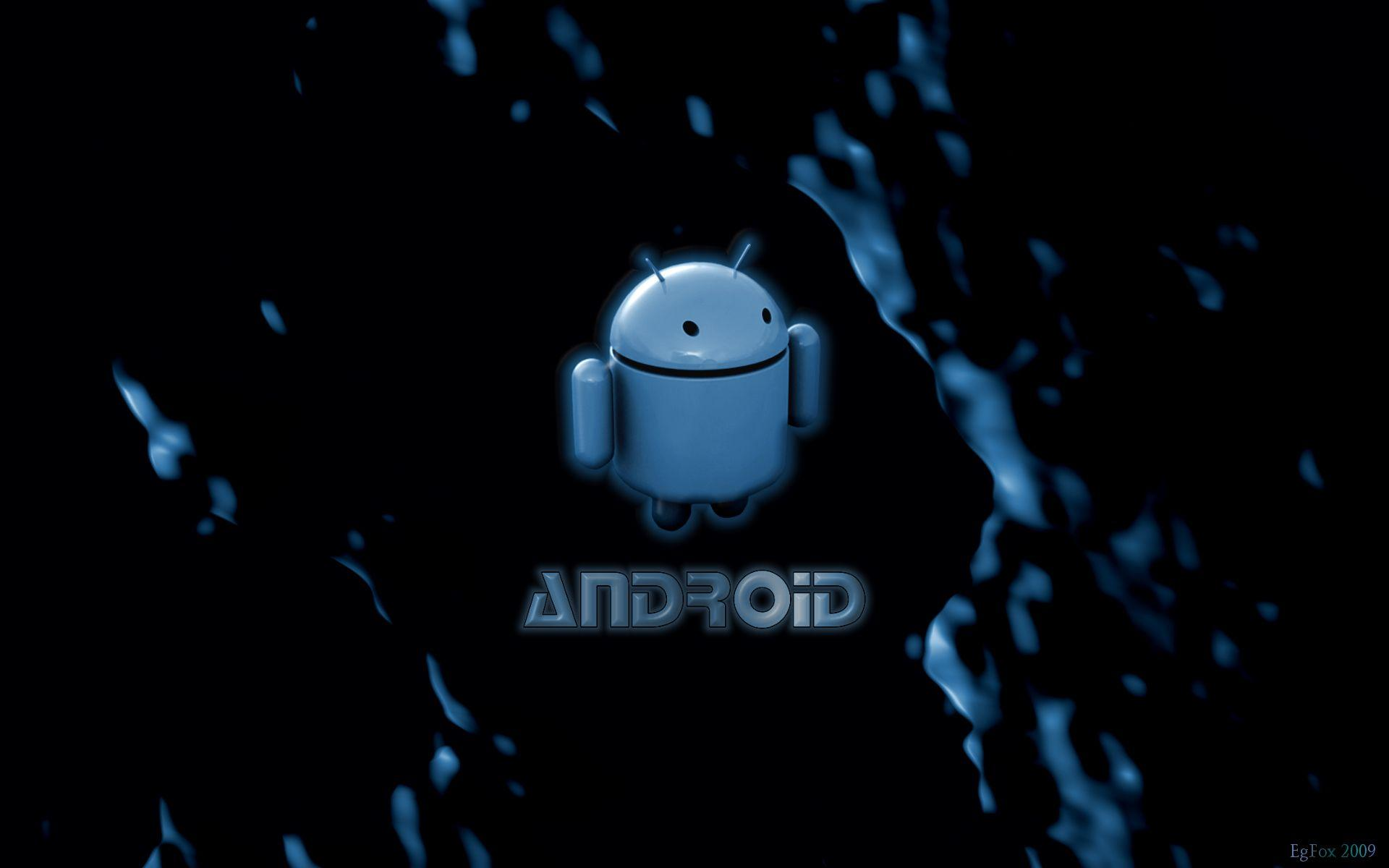 Android Blue Logo 15316 High Resolution