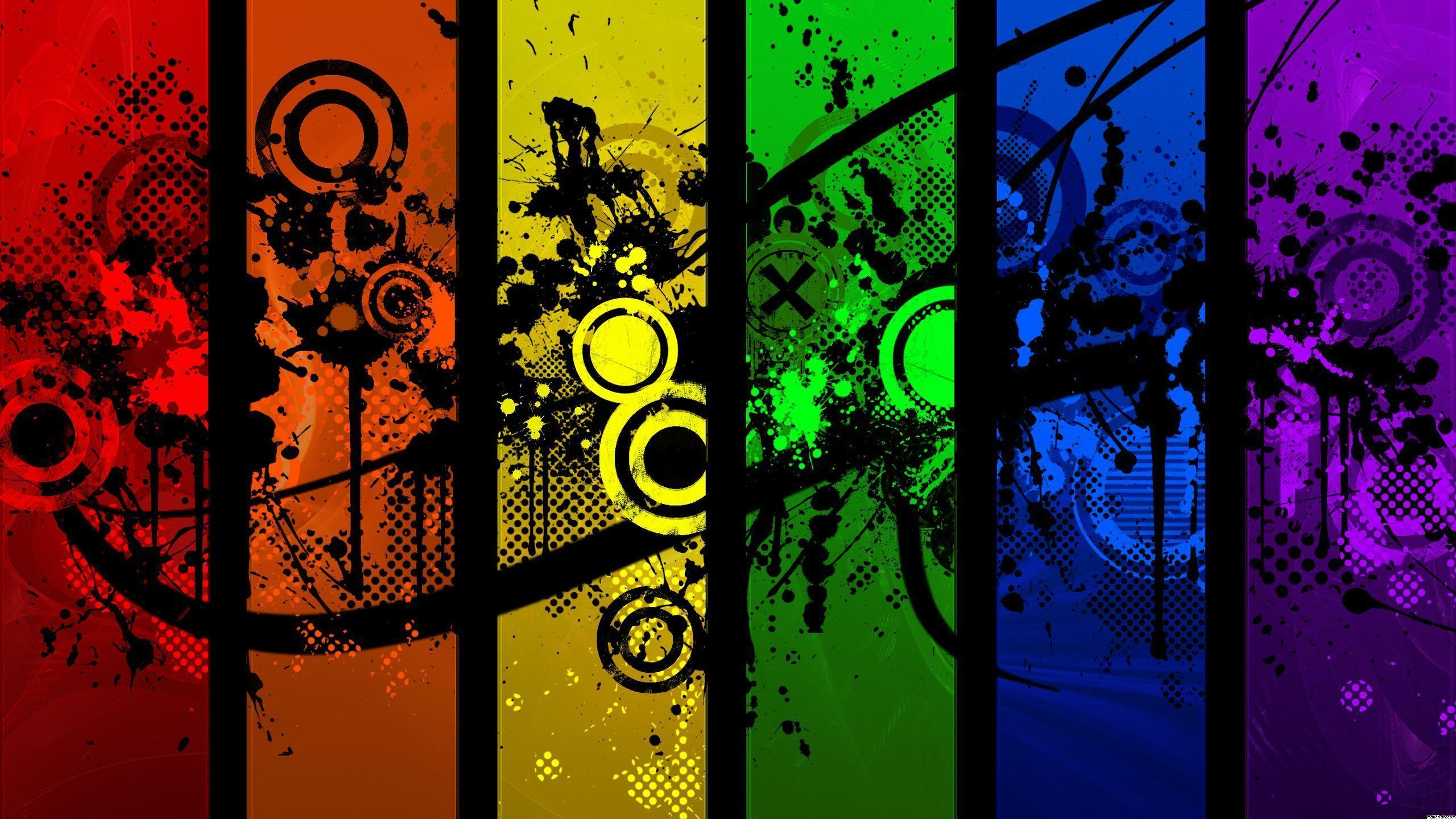 Color splash wallpapers wallpaper cave - High definition colorful wallpapers ...