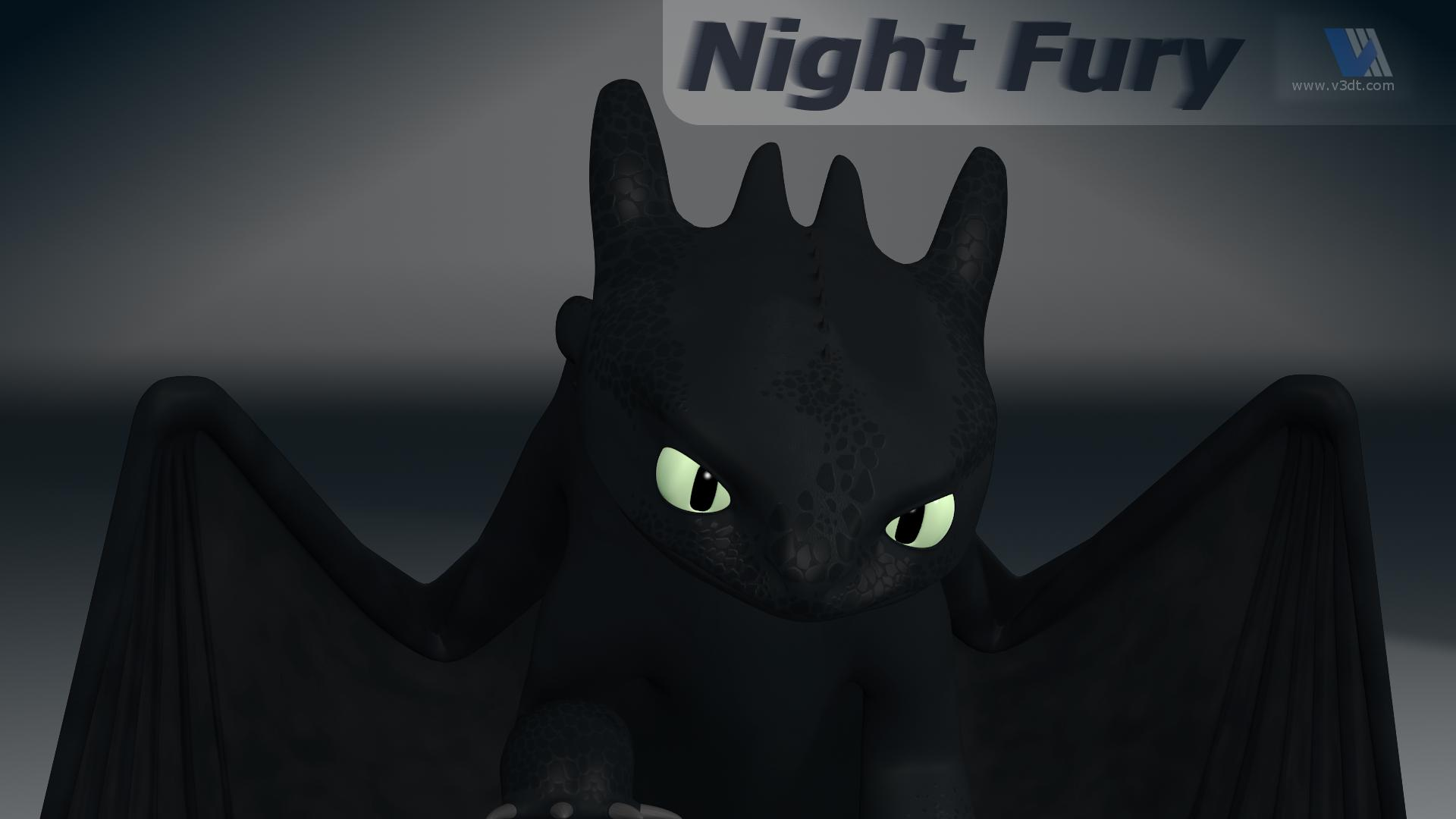 white night fury wallpaper - photo #6