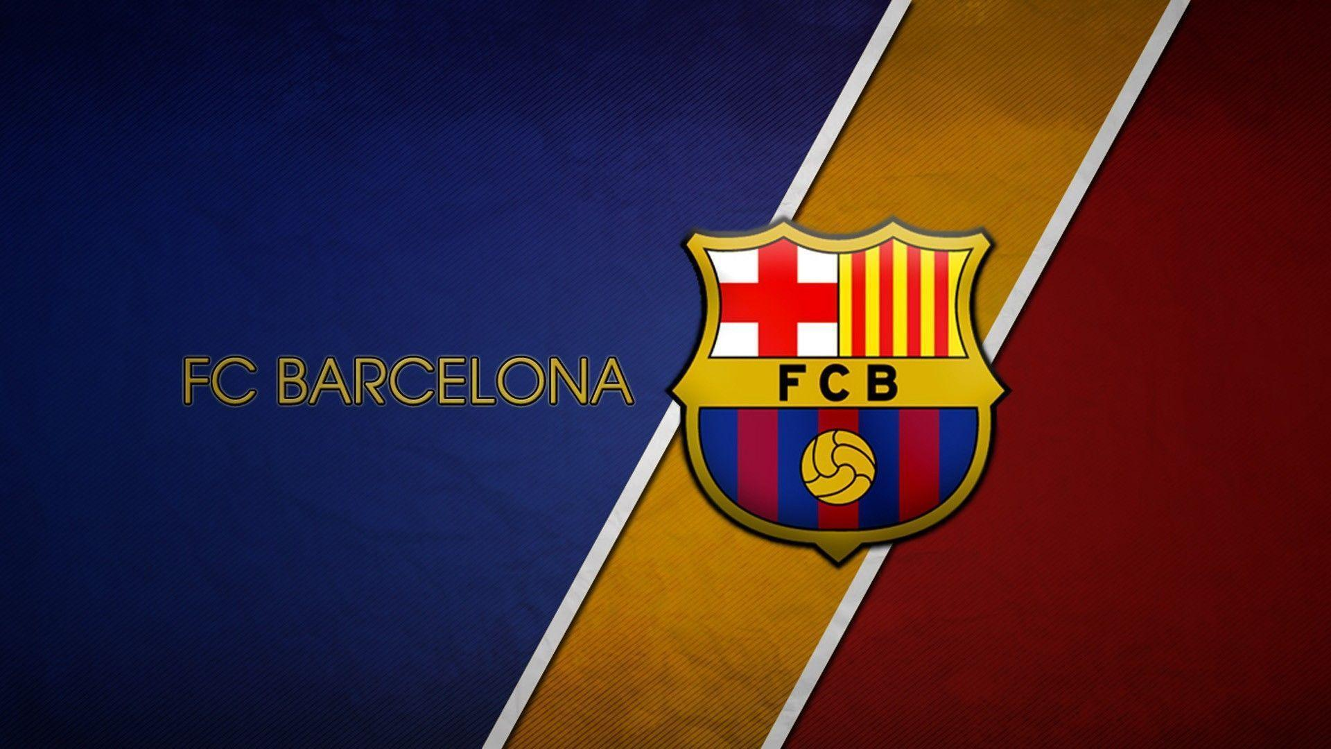 Fc Barcelona Football Logo Full HD Wallpapers Wallpapers