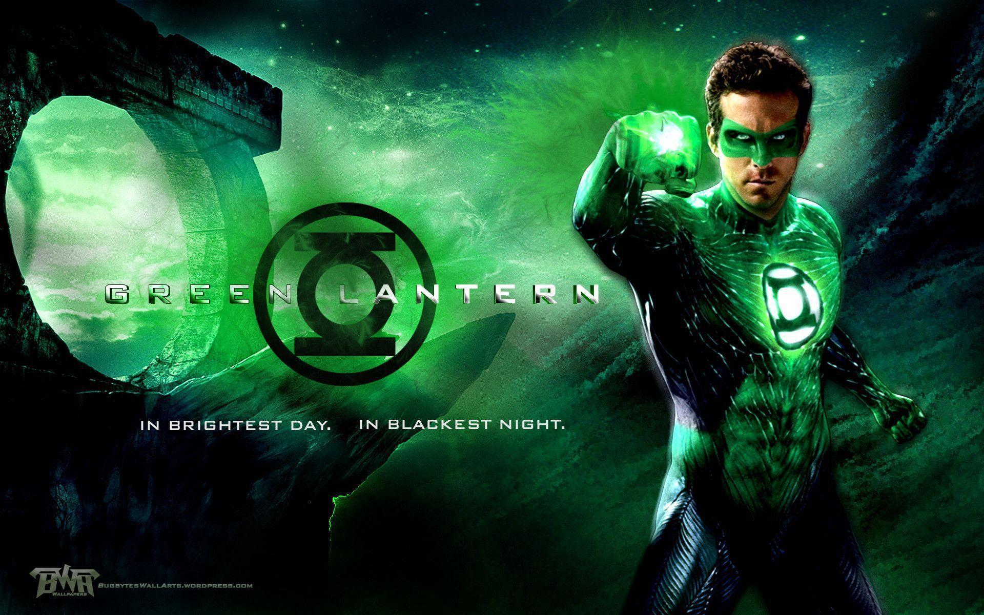 Green Lantern HD backgrounds