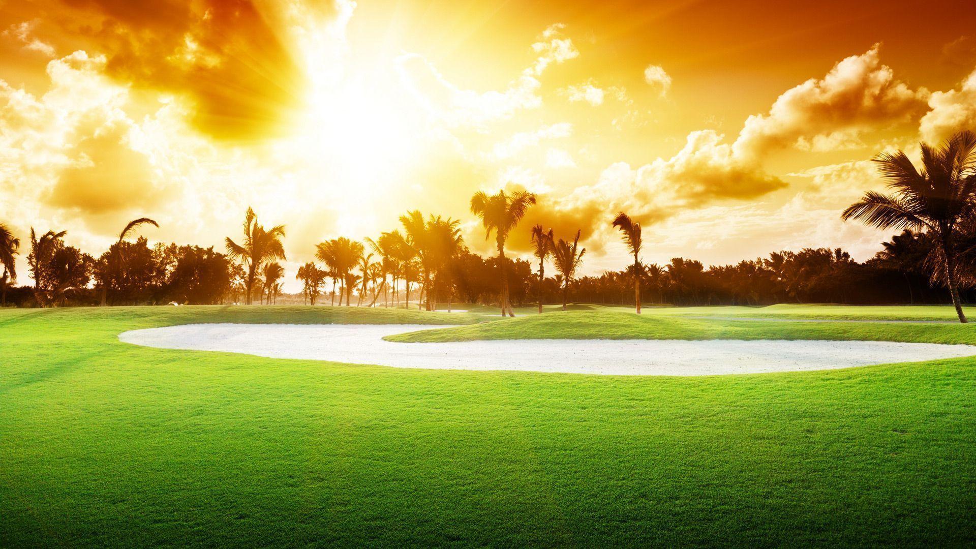 Golf wallpaper background