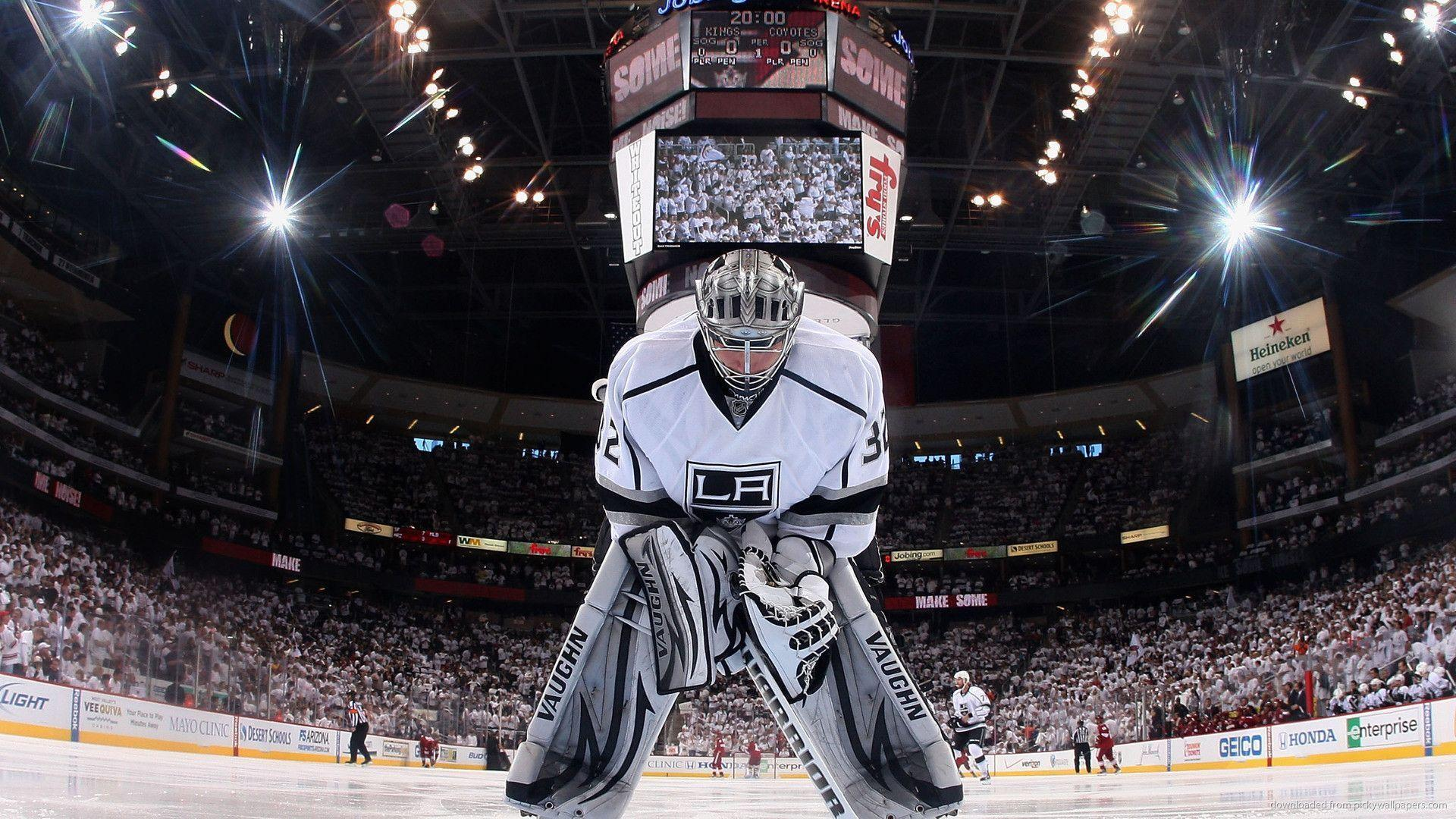 HD Los Angeles Kings Jonathan Quick Wallpapers