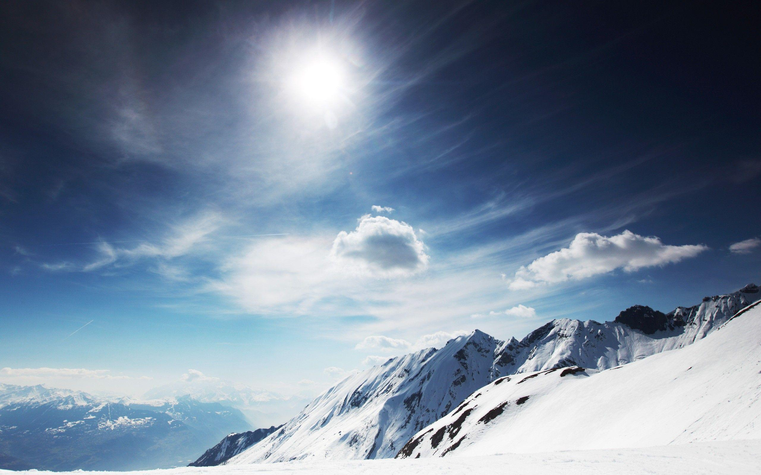 Snowy Mountains Wallpapers Wallpaper