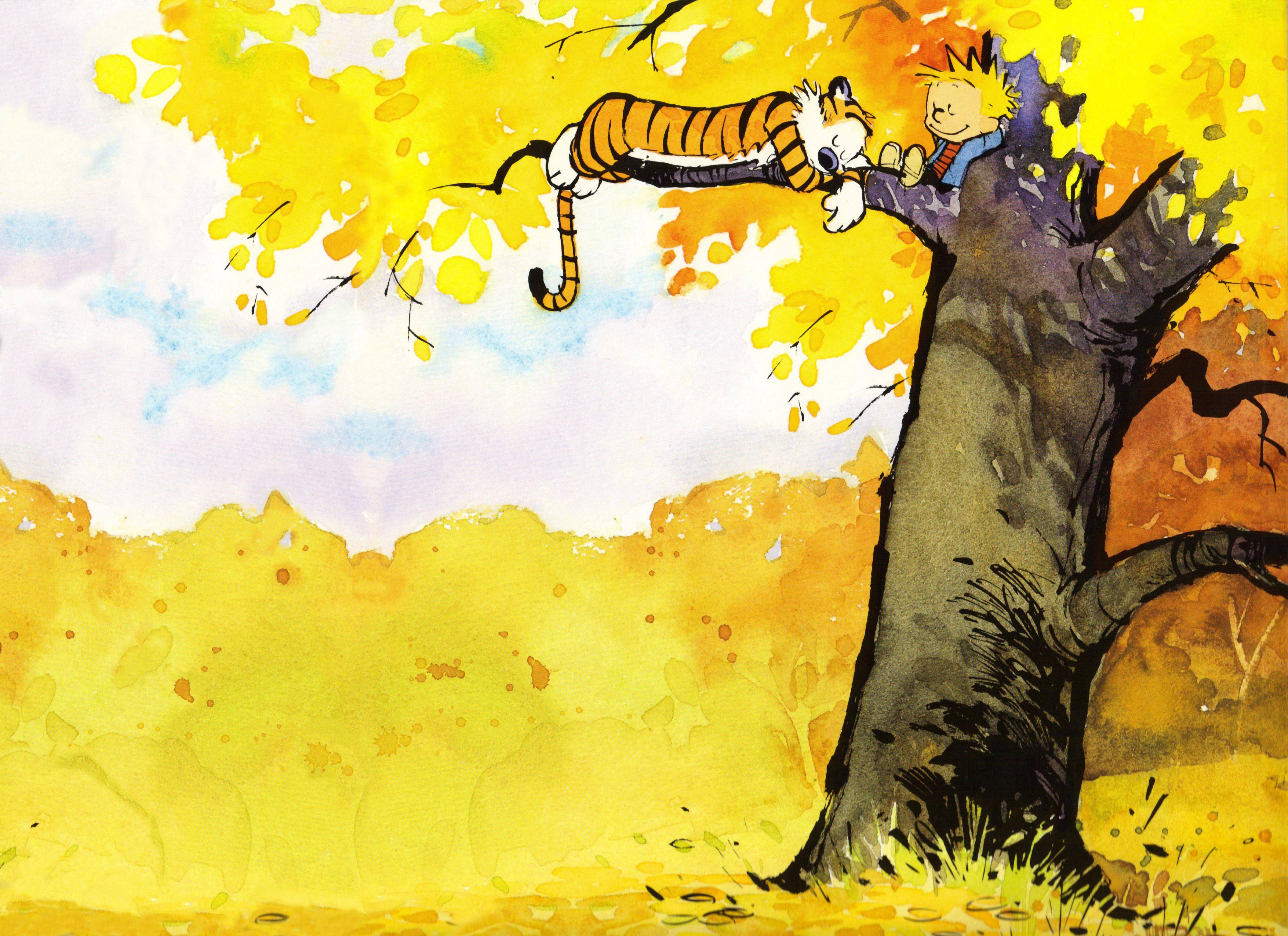 Book Cover Background Quotes : Calvin and hobbes wallpapers wallpaper cave