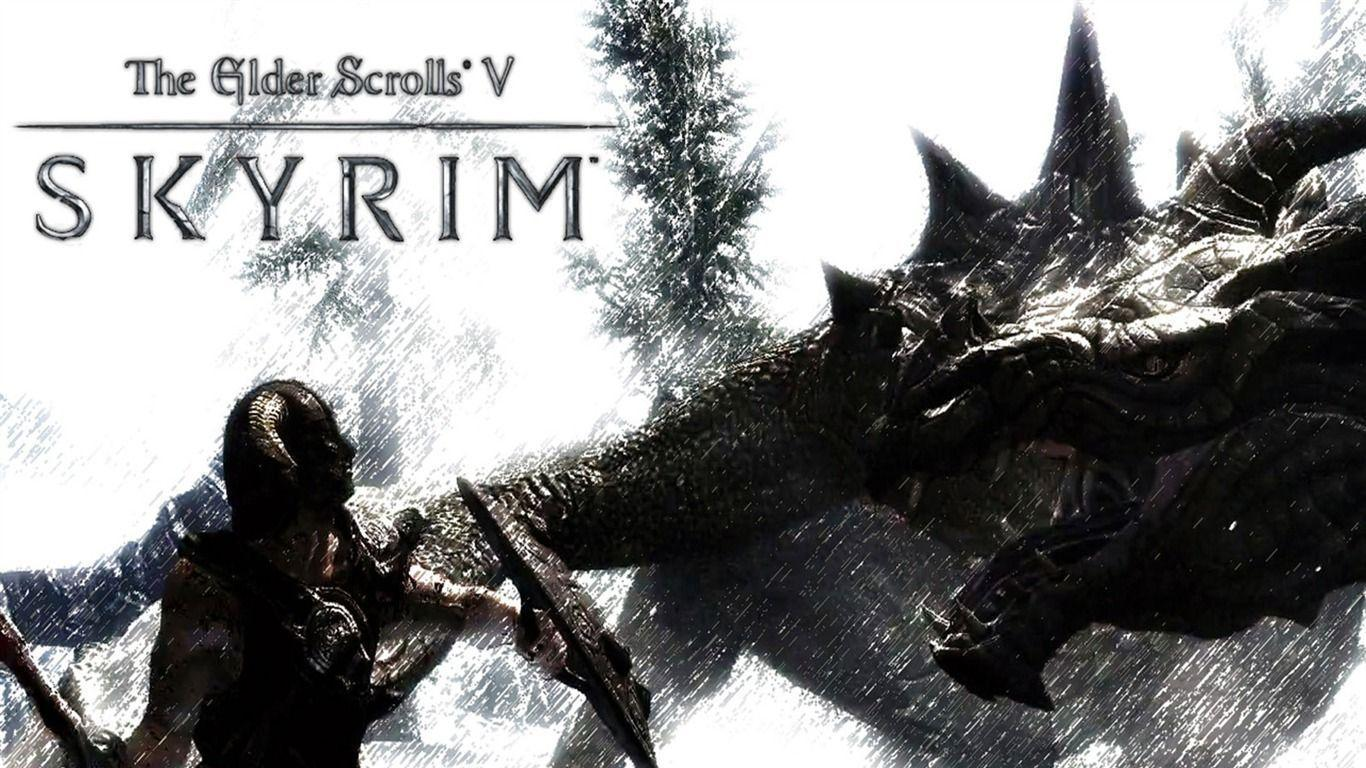 skyrim hd wallpapers 1366x768 - photo #4