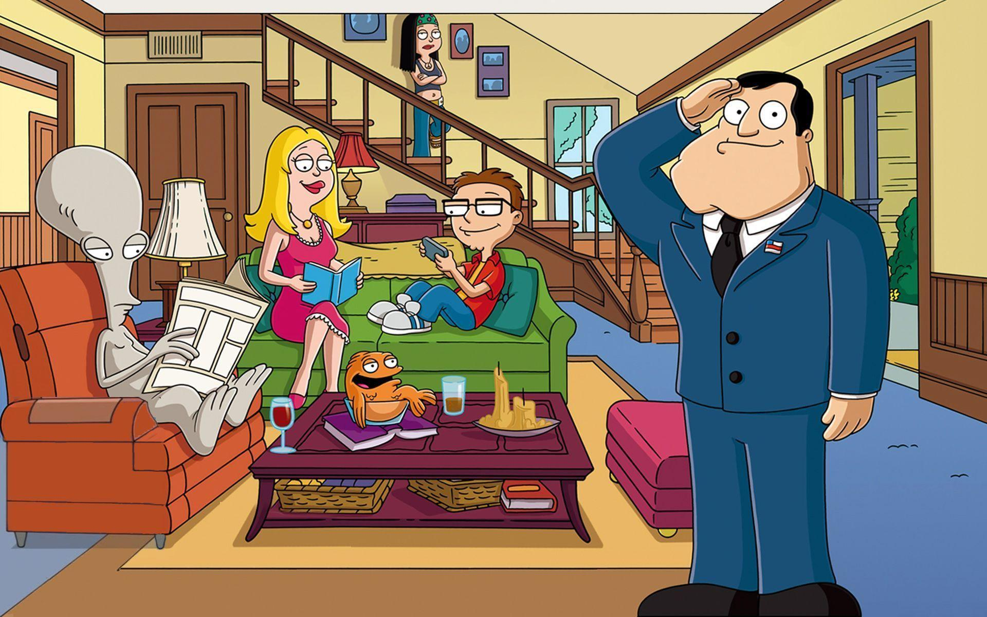 24 American Dad! Wallpapers