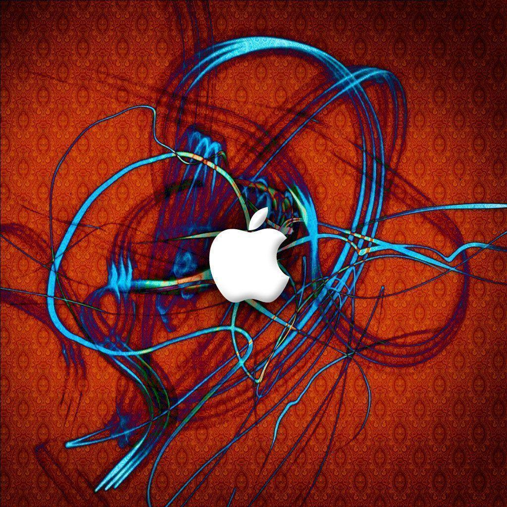 Red Apple Logo Wallpaper